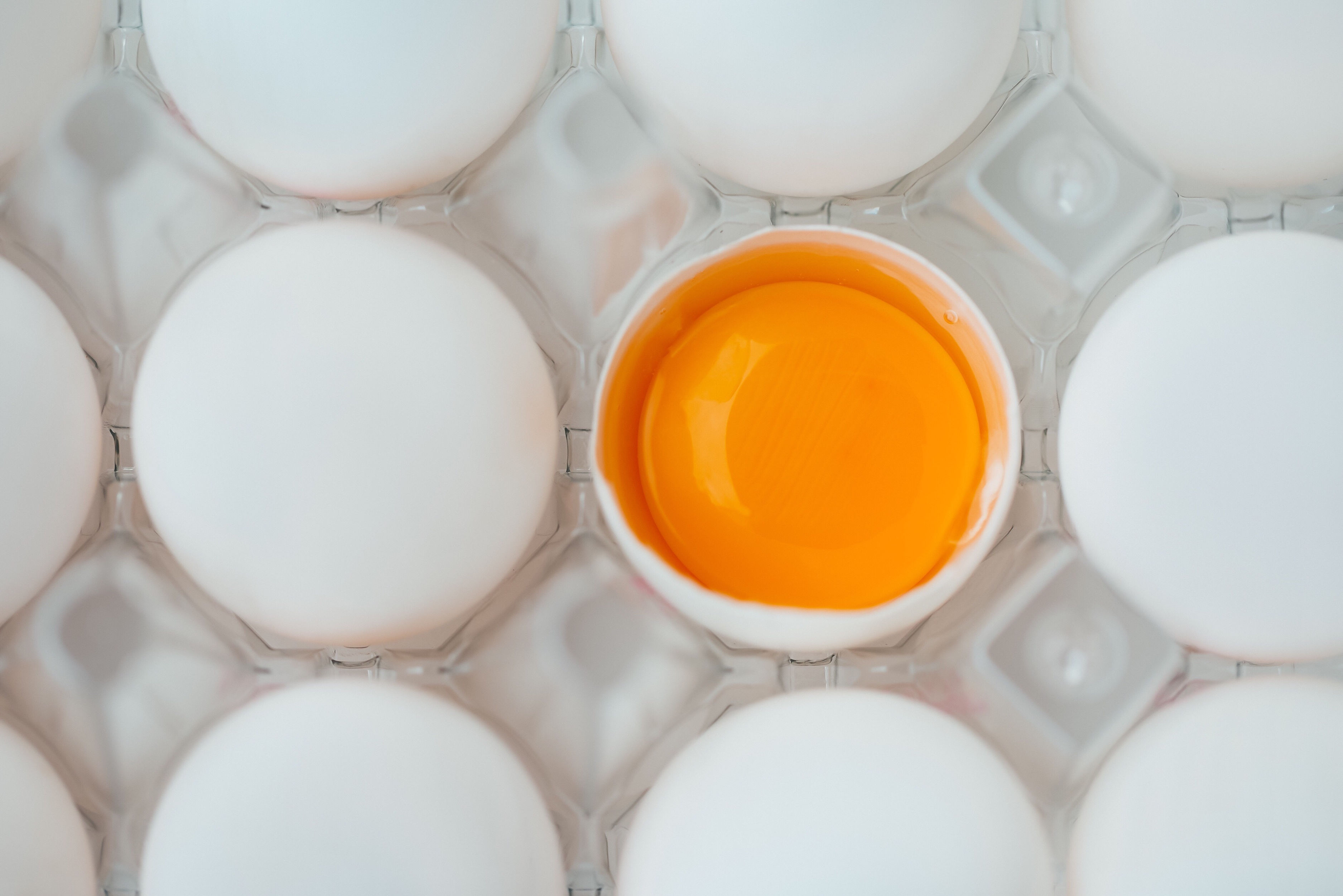 The Reason Egg Yolks Are Different Colors