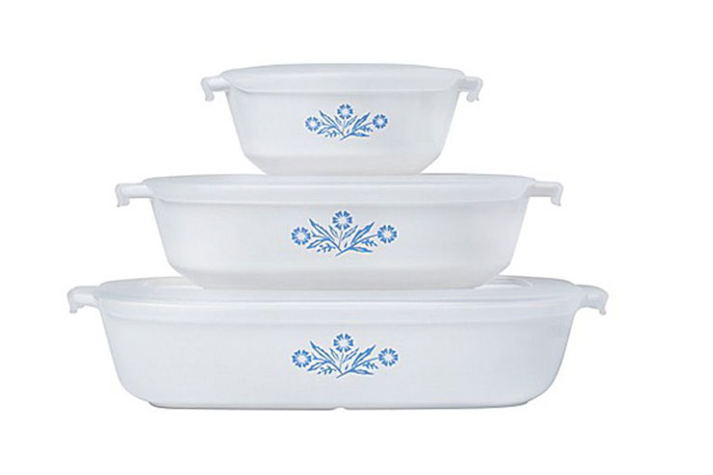 China Lovers, Rejoice! Blue-and-White CorningWare is Back