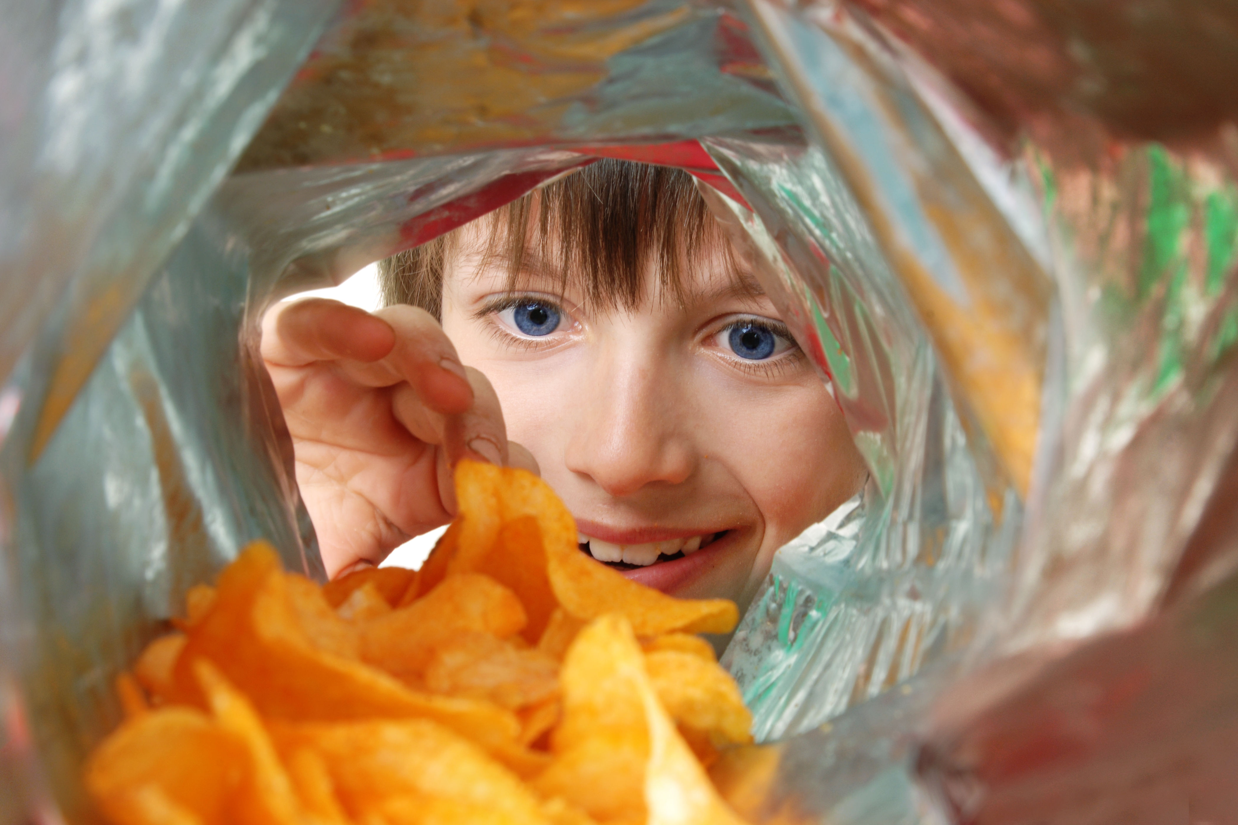 The Reason There's So Much Air in Each Bag of Potato Chips