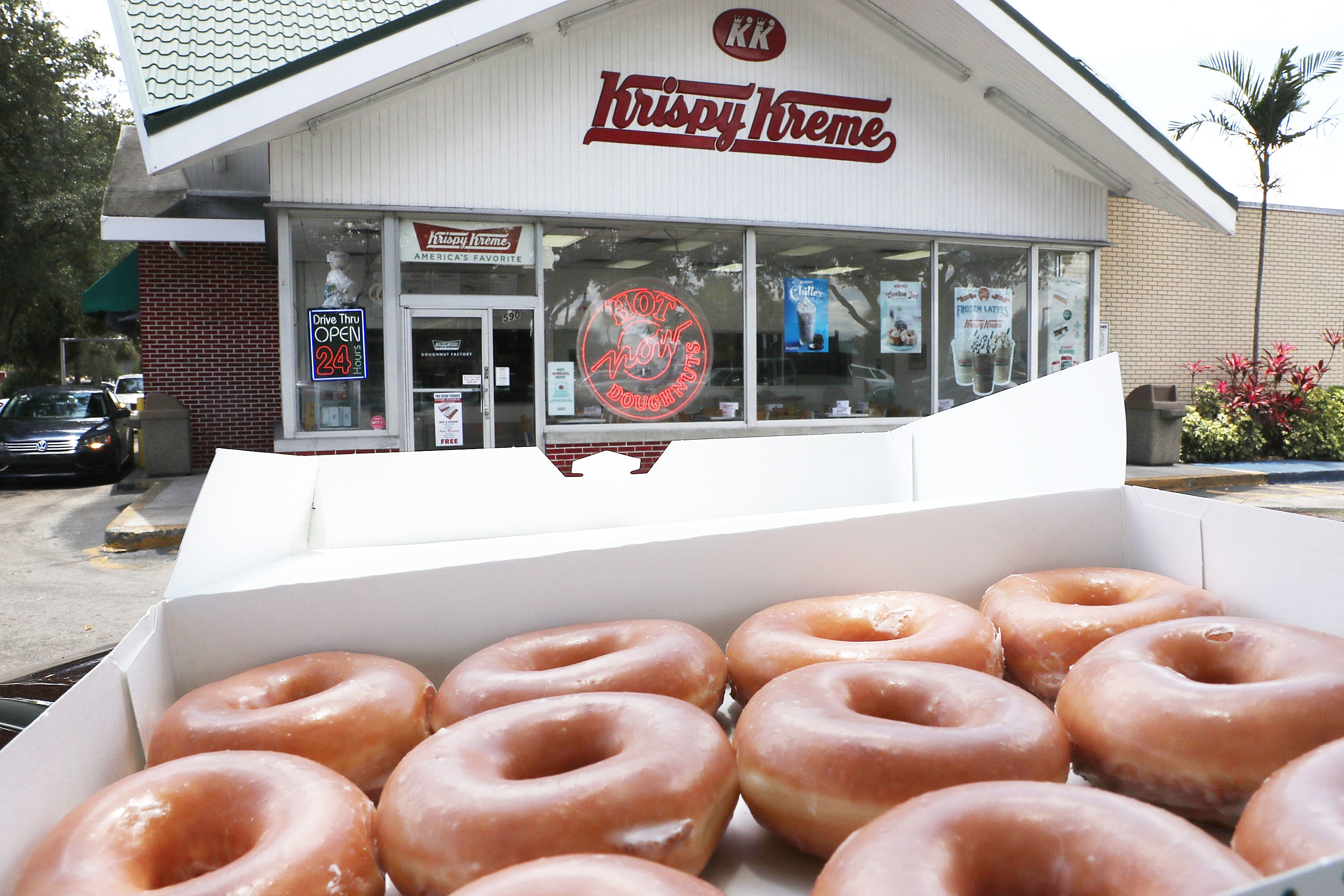 Here's How Much It Costs To Open a Krispy Kreme