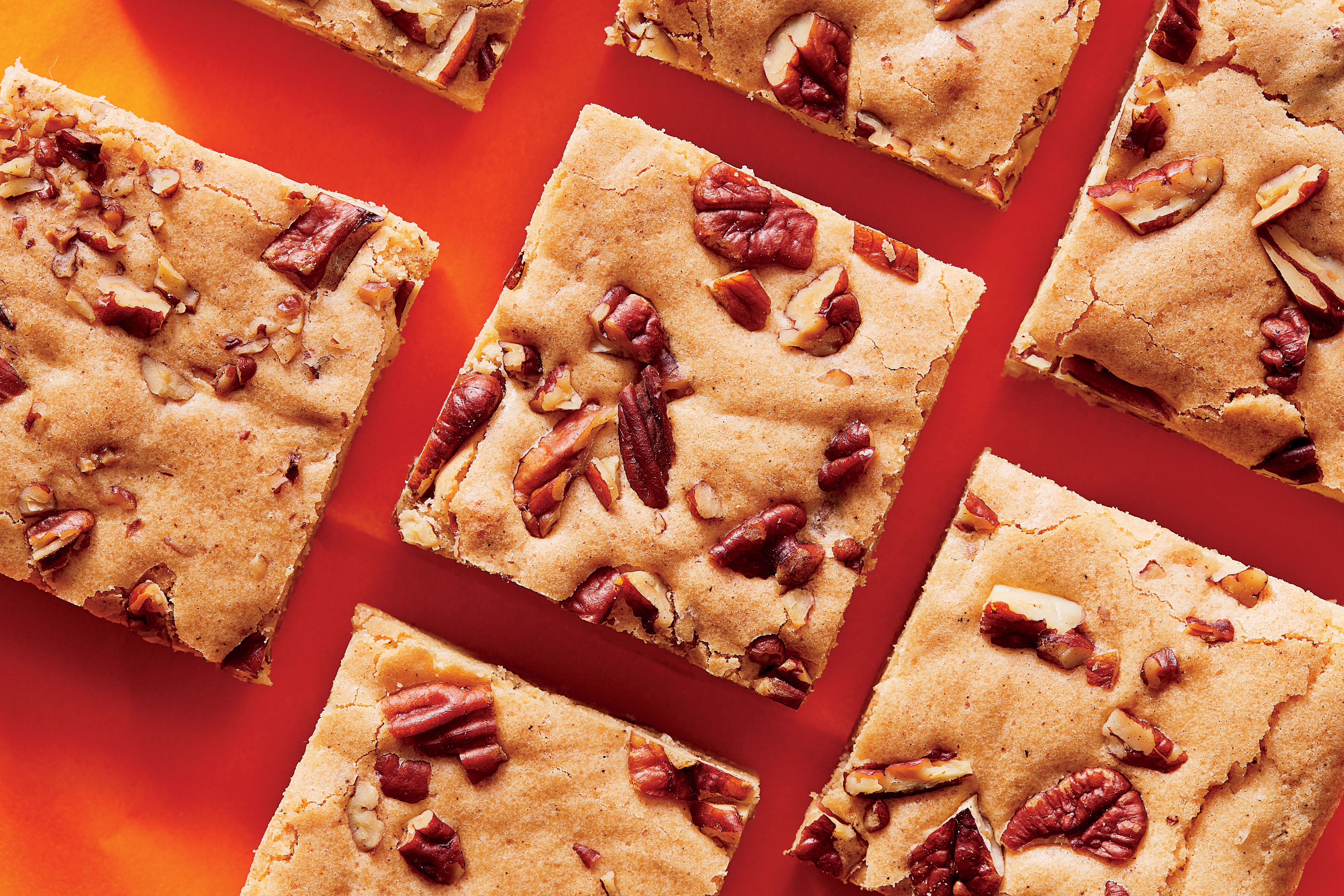 Brown Butter-Maple-Pecan Blondies Recipe