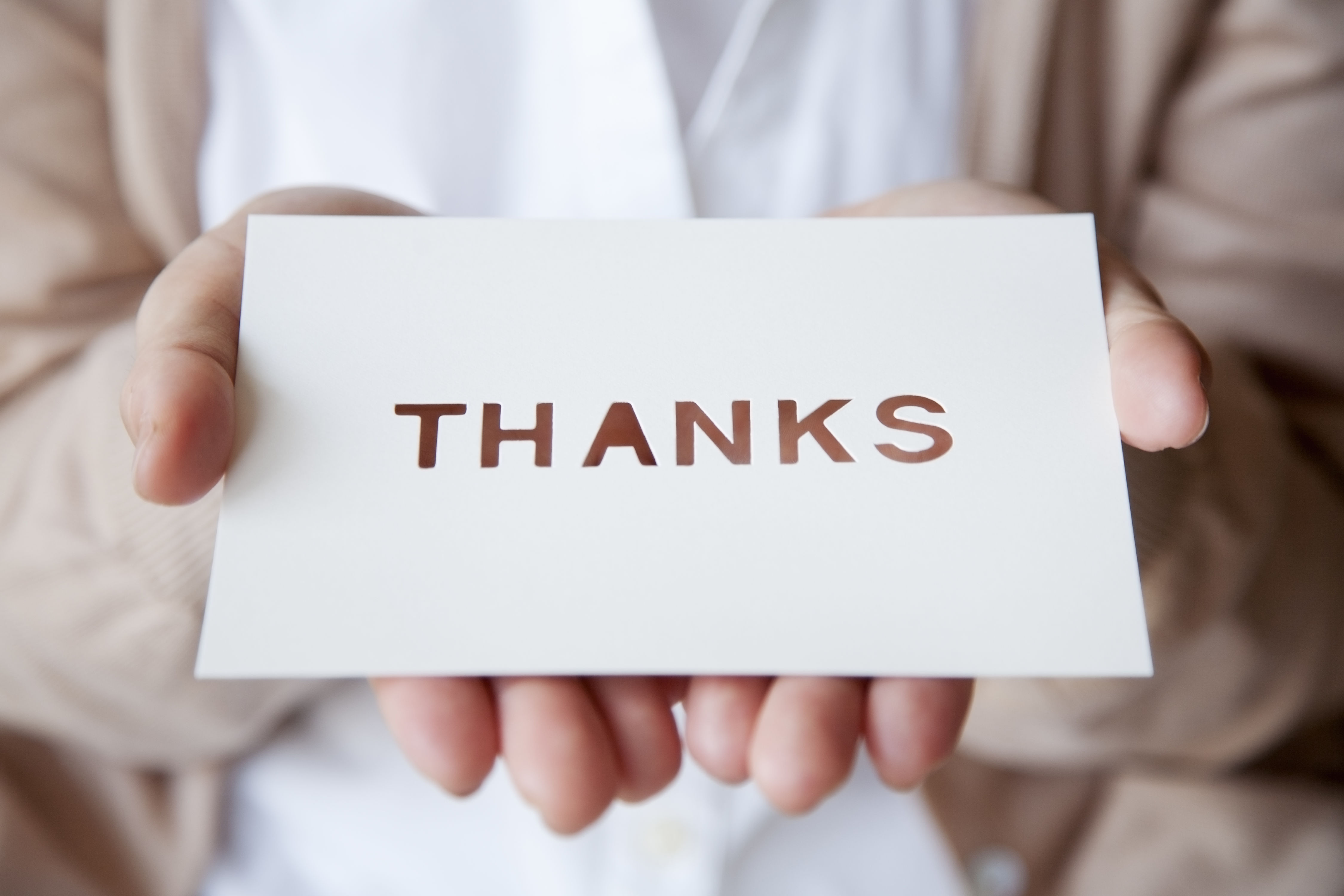 Is It Tacky To Hand-Deliver a Thank You Note?