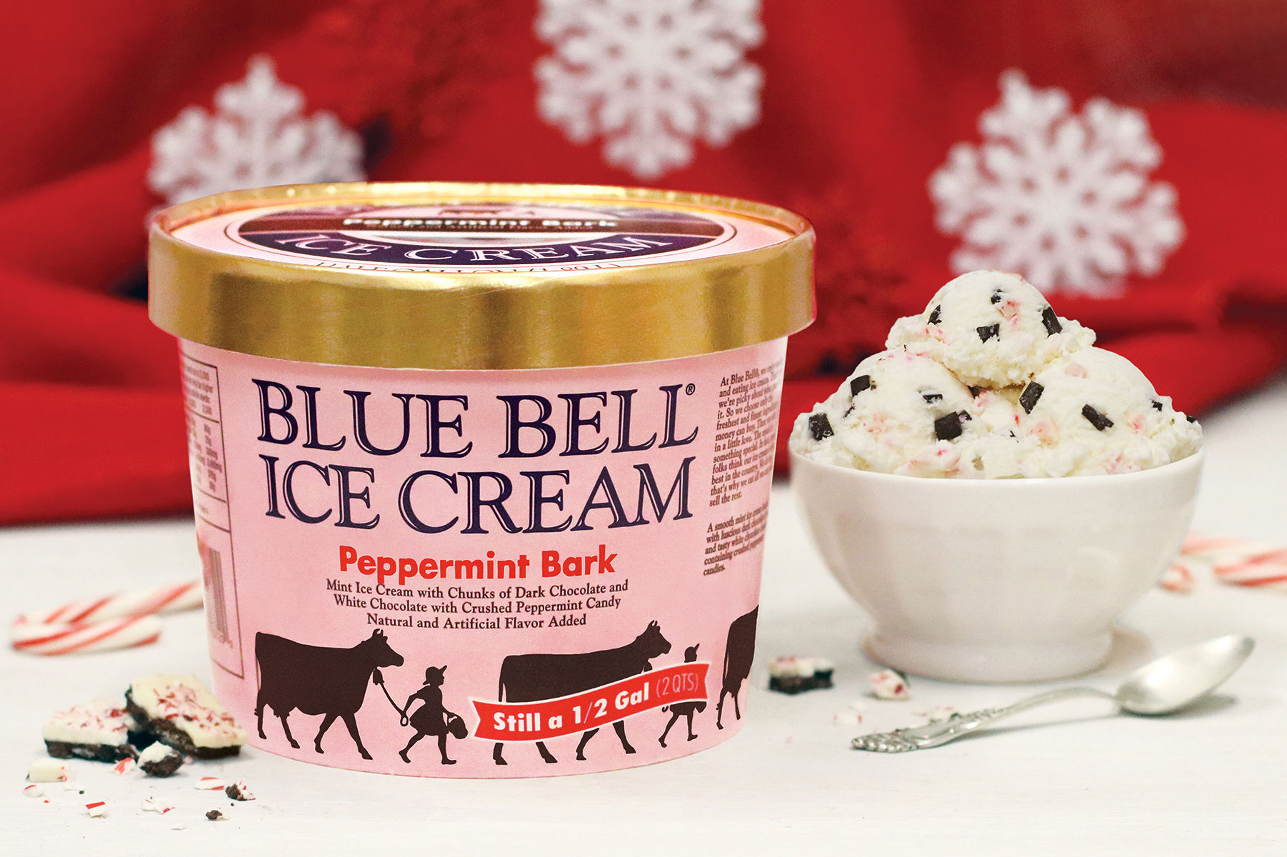 Blue Bell Just Unveiled Two New Holiday Flavors