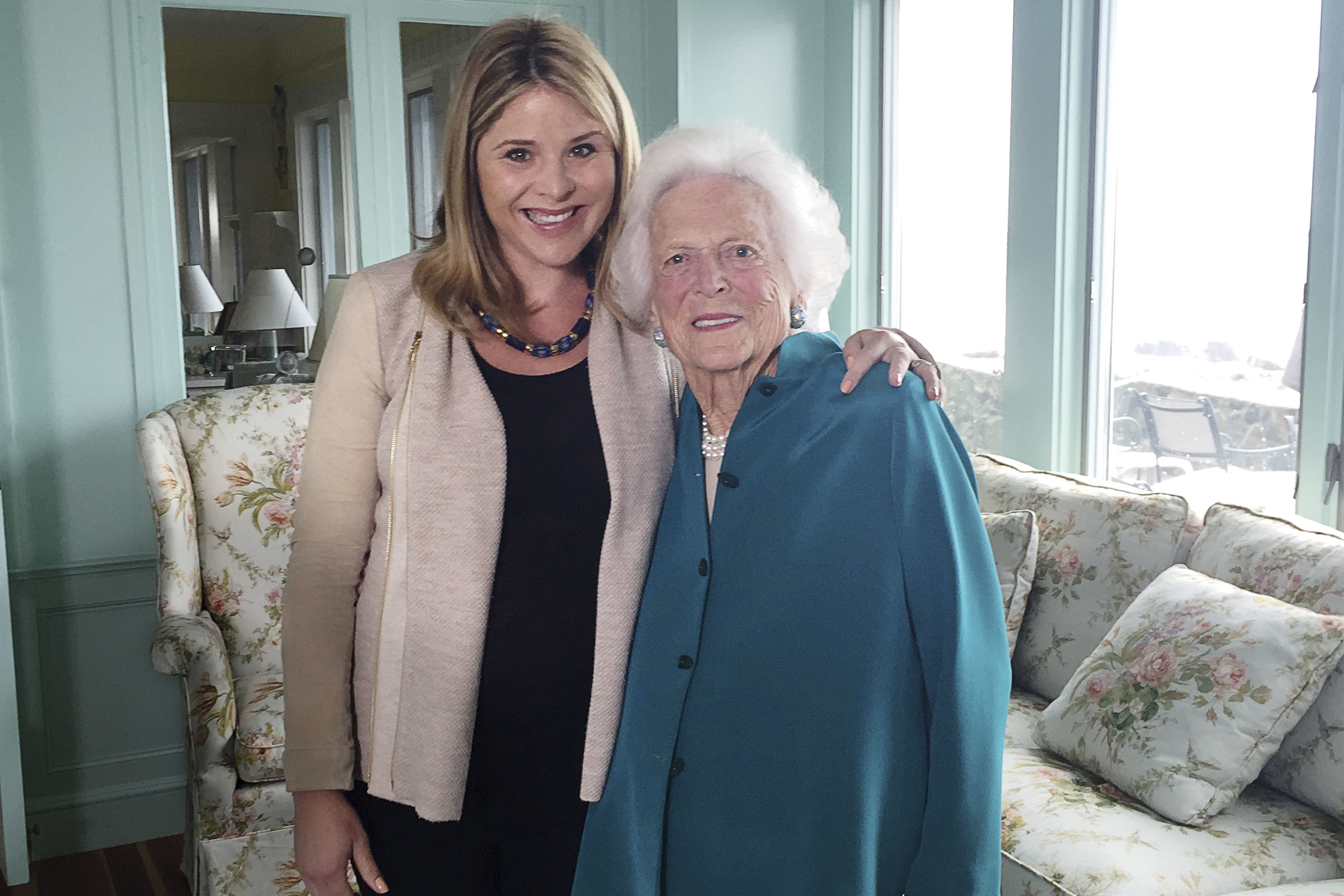 Jenna Bush Hager on Her Grandmother's Needlepoint Stockings– and Missing Her This Christmas