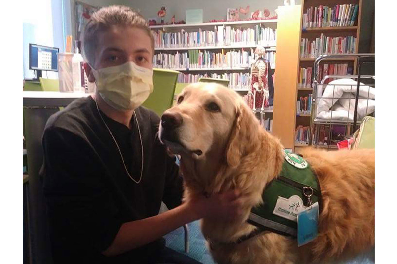 Atlanta Hospital Dog Sniffs Out Dangerous Hidden Condition in Young Patient