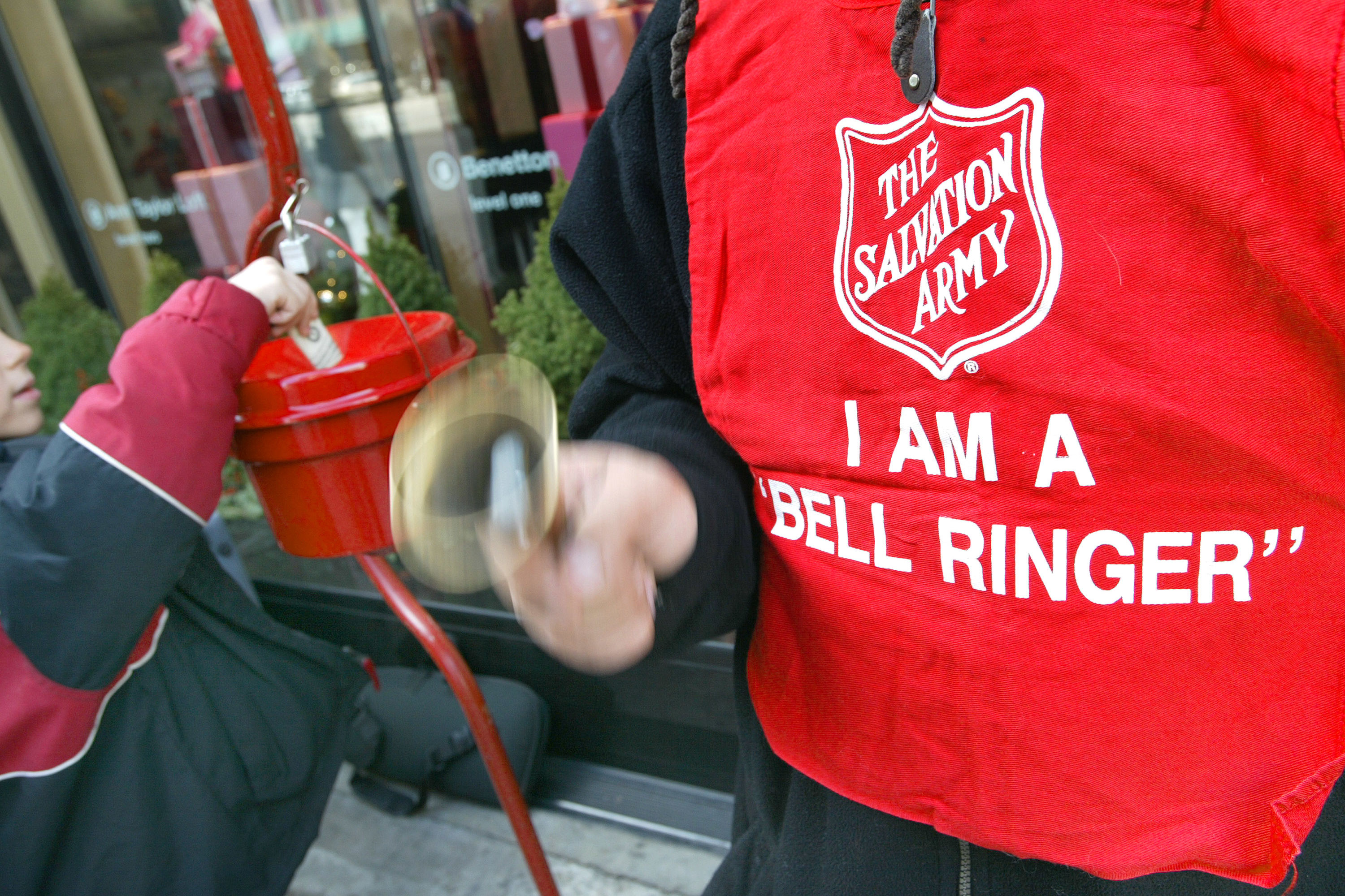 The Salvation Army is Looking for Red Kettle Bell Ringers