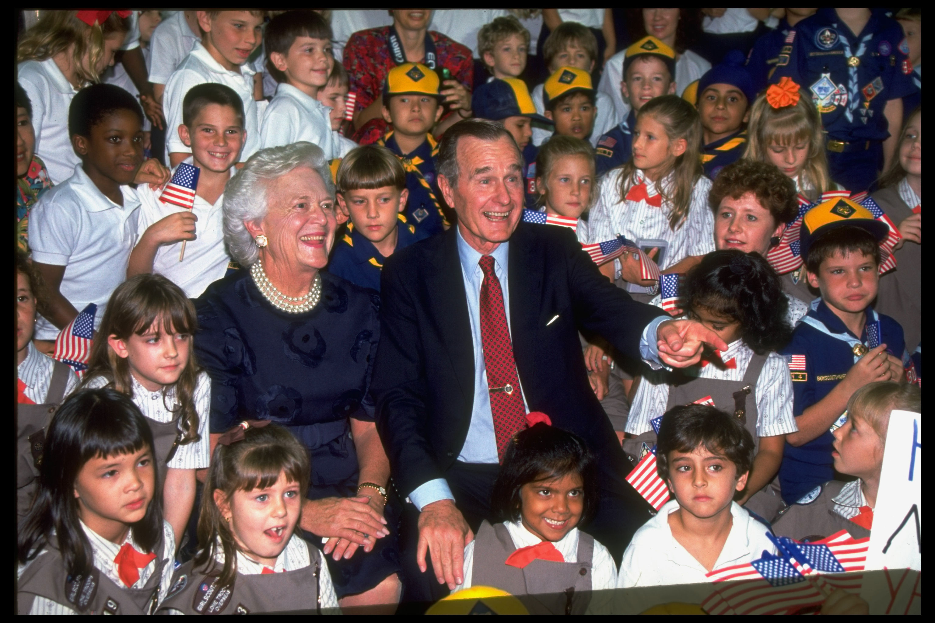 Before His Death, President George H.W. Bush Offered Some Sage Advice for Young Americans