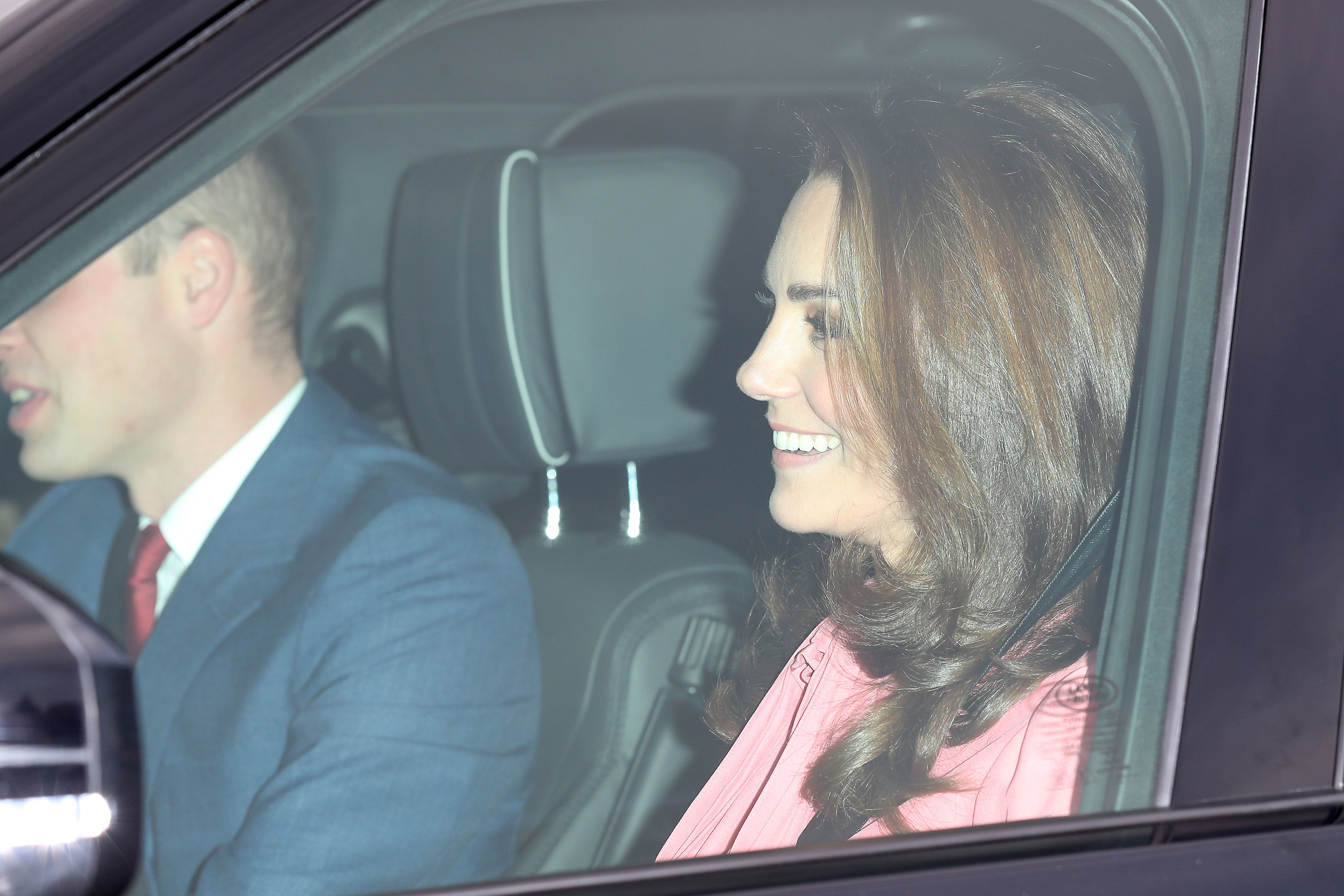 People Are Surprised That Kate Just Wore Pink to a Christmas Party