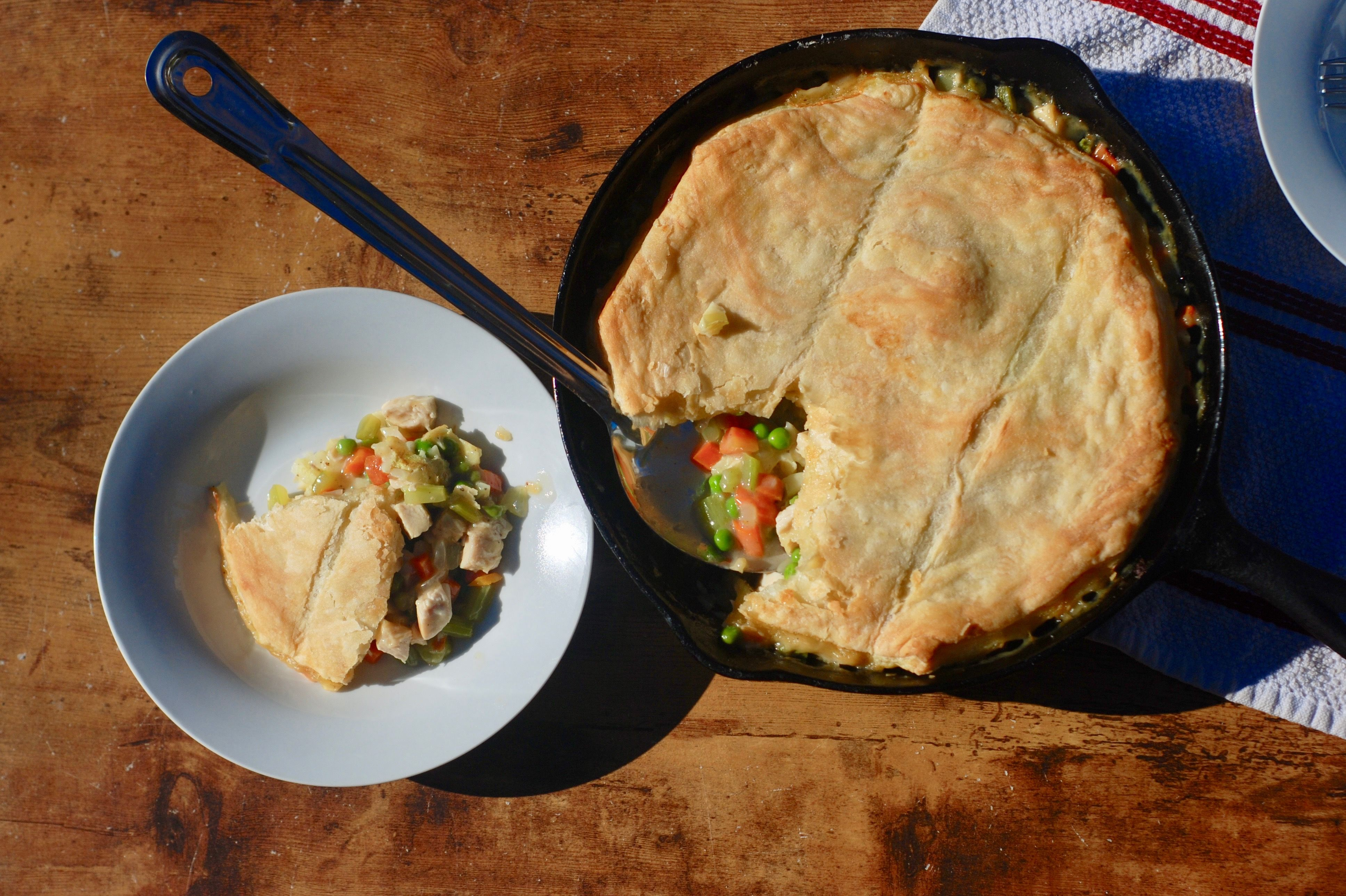 Here's What We Think of Reese Witherspoon's Chicken Pot Pie Casserole Recipe