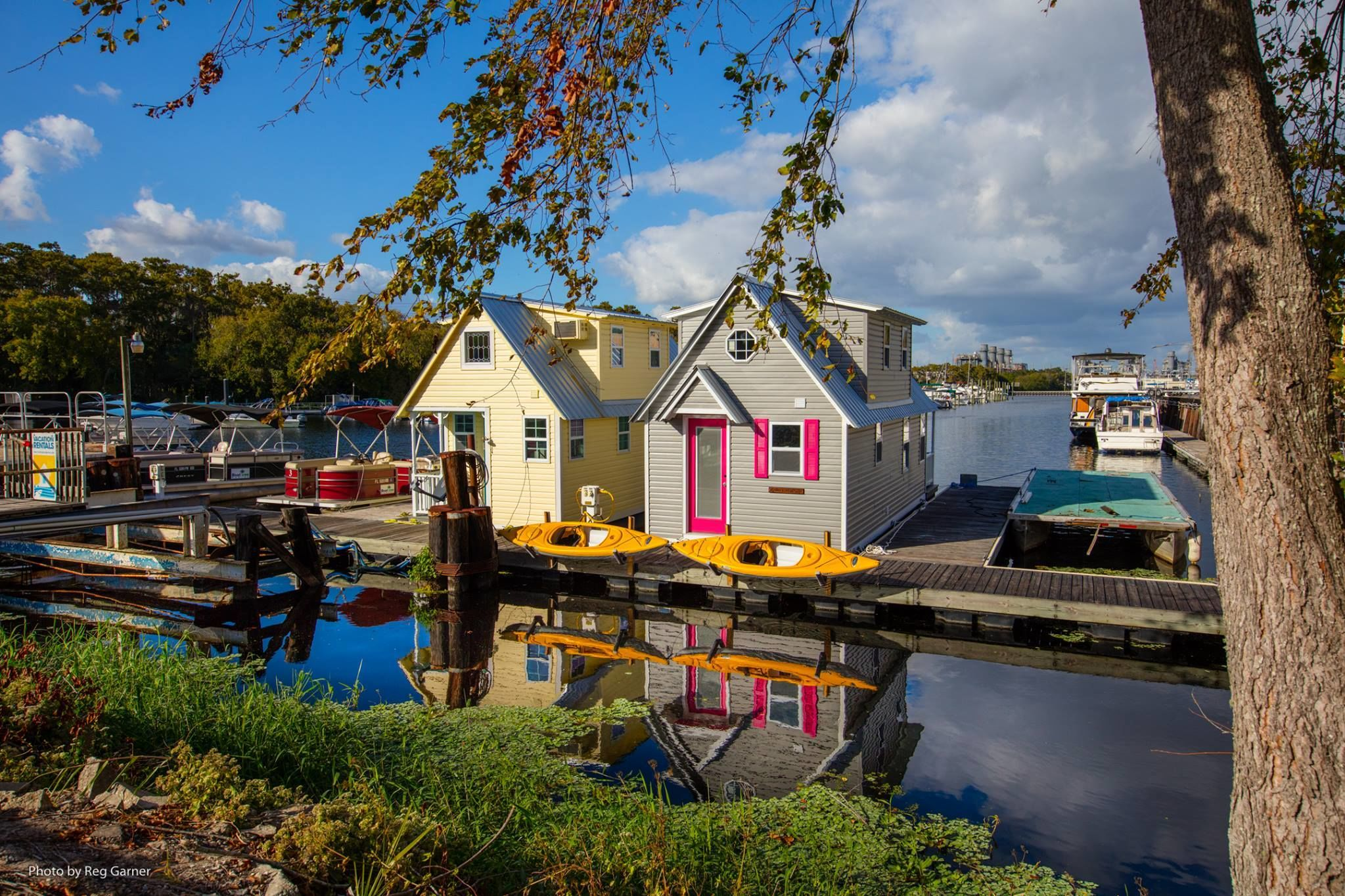This Florida Couple Is Building Incredible Tiny Houses That Float!