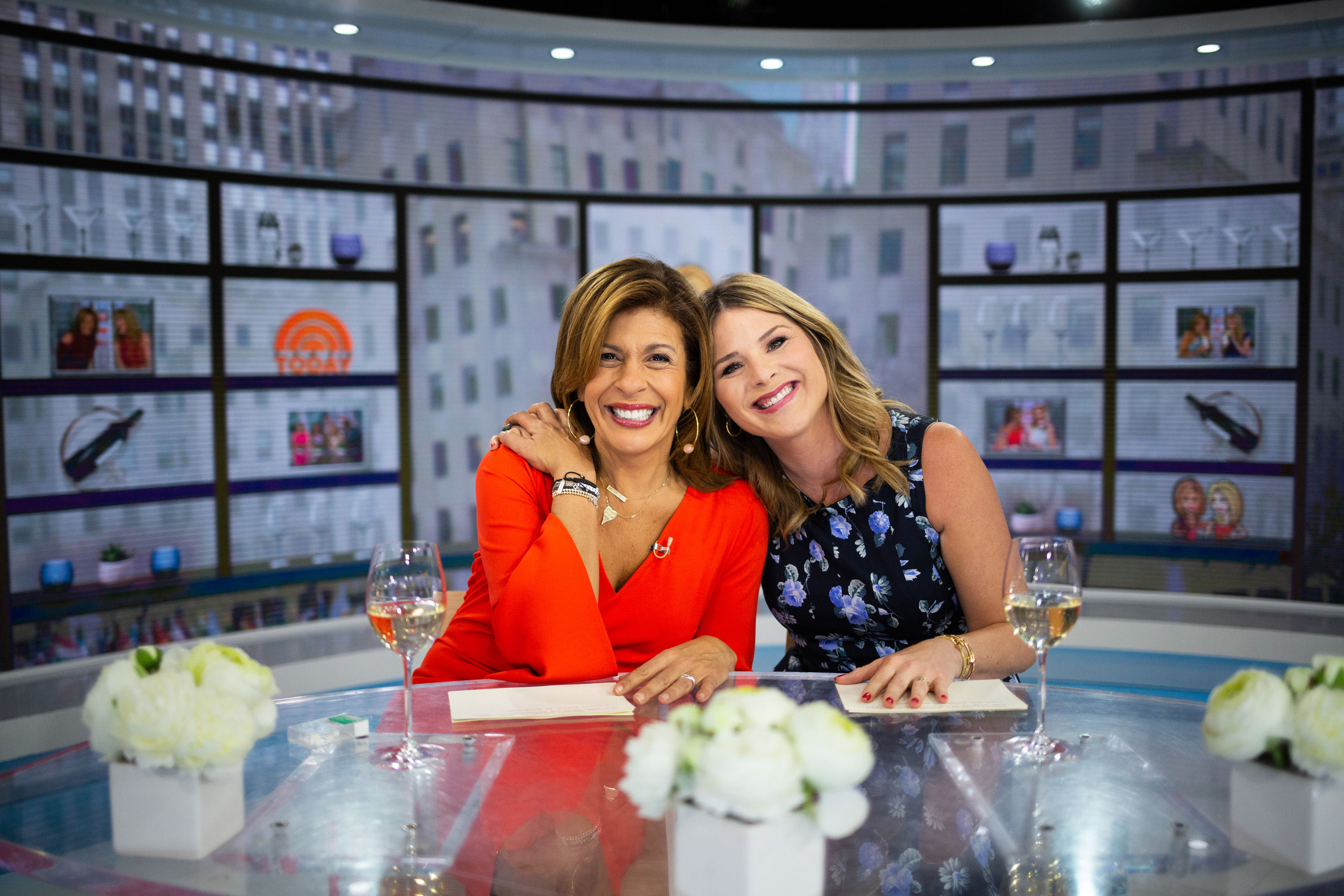 Hoda Kotb's Daughter is Benefiting from Jenna Bush Hager's Adorable Hand-Me-Downs