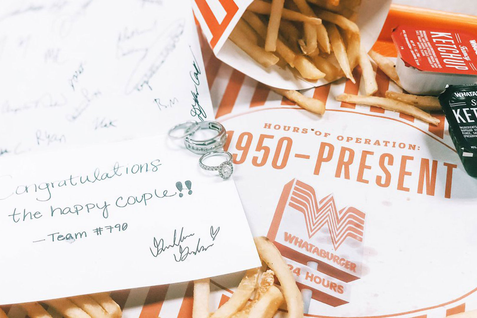 Texas Couple Hosts Surprise Second Wedding Ceremony at Whataburger