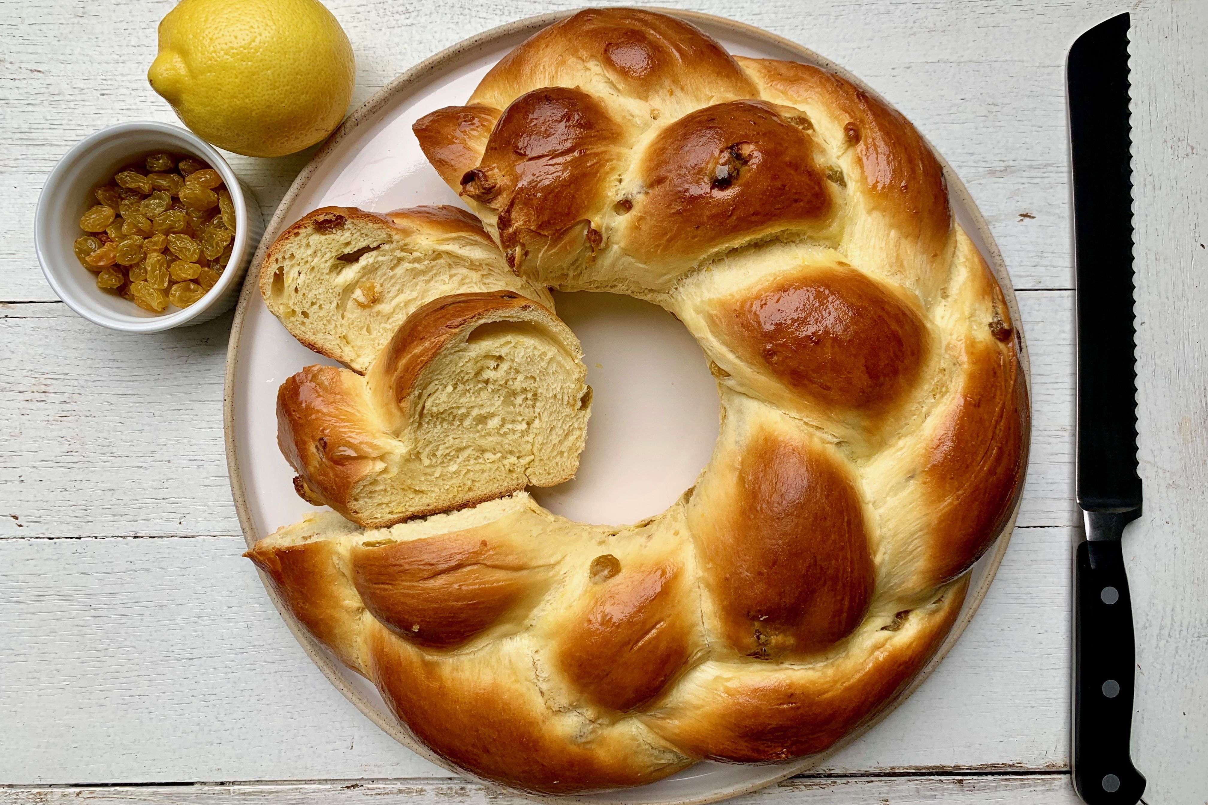 Braided Easter Bread