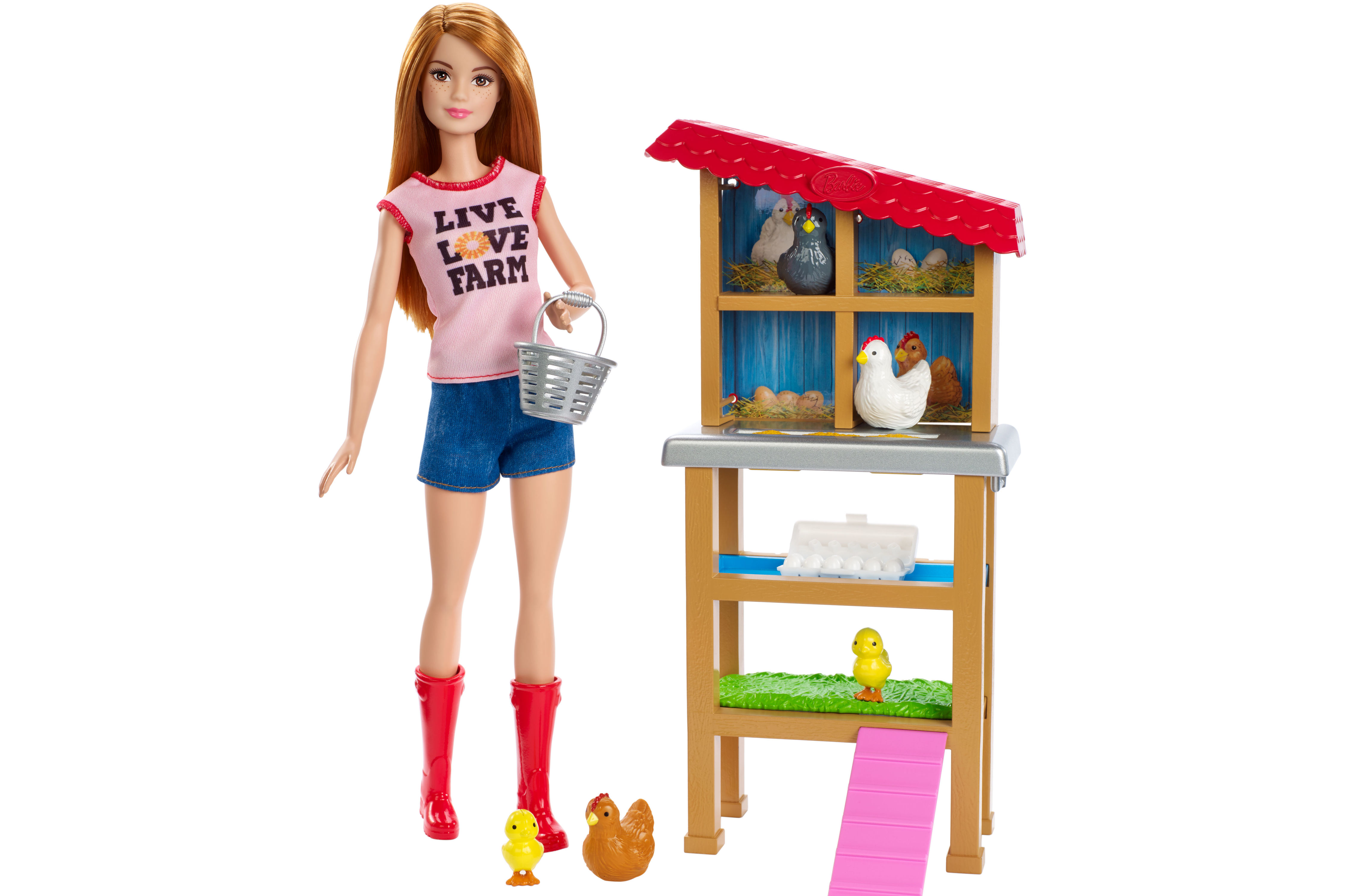 What Do You Think About Barbie as Chicken Farmer?
