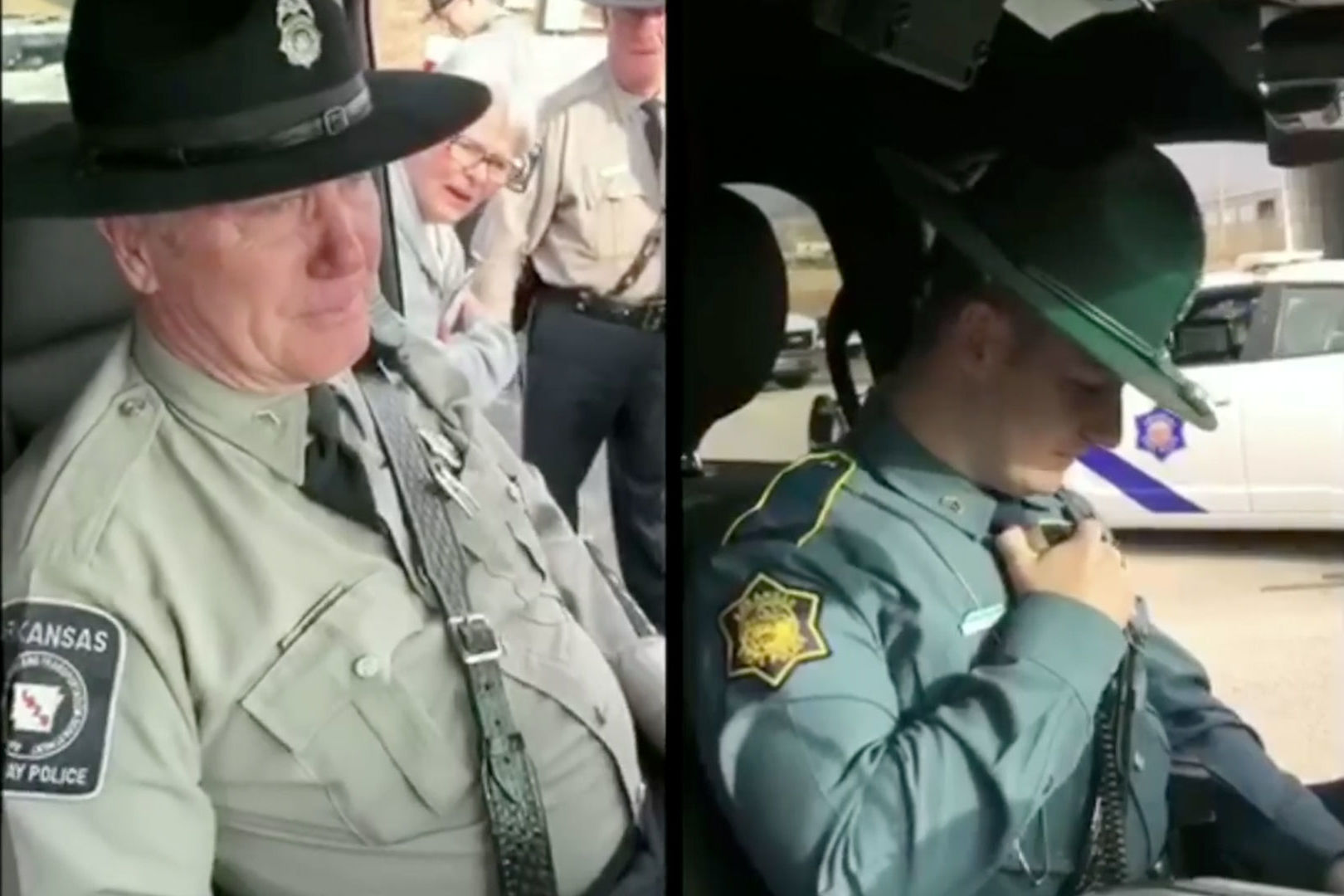 Son Answers Retiring Police Officer's Final Radio Call in Emotional Exchange