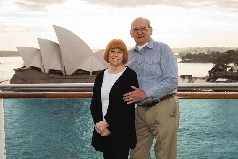 This 81-Year-Old Princess Cruises Superfan Has Spent 2,500 Days (and Counting!) at Sea
