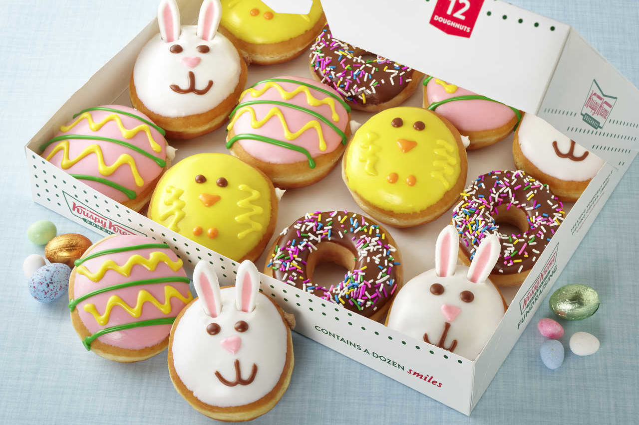 Krispy Kreme's Spring Donuts Are Back and They're Perfect for Easter
