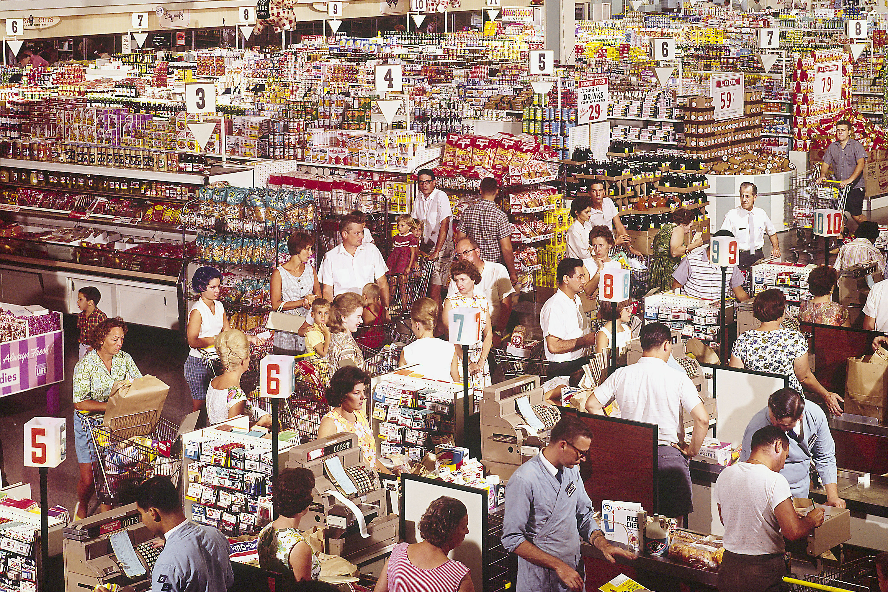 Tips for Picking the Fastest Grocery Store Line