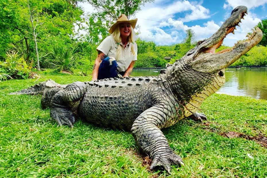 Florida Veteran Finds Her Calling Working with 2,500 Crocodiles and Alligators