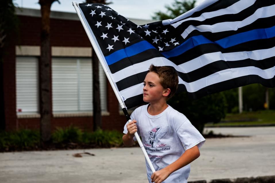 Florida 10-Year-Old Runs Mile for Fallen K9 Officer from North Carolina