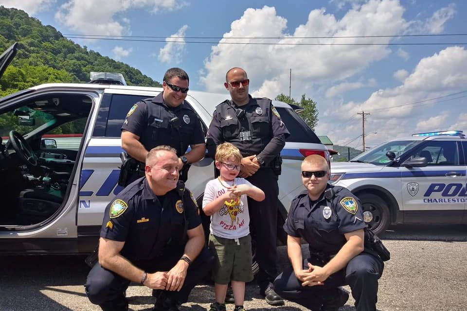 West Virginia Police Officers Save 5-Year-Old Boy's Birthday Party After Nobody Shows Up