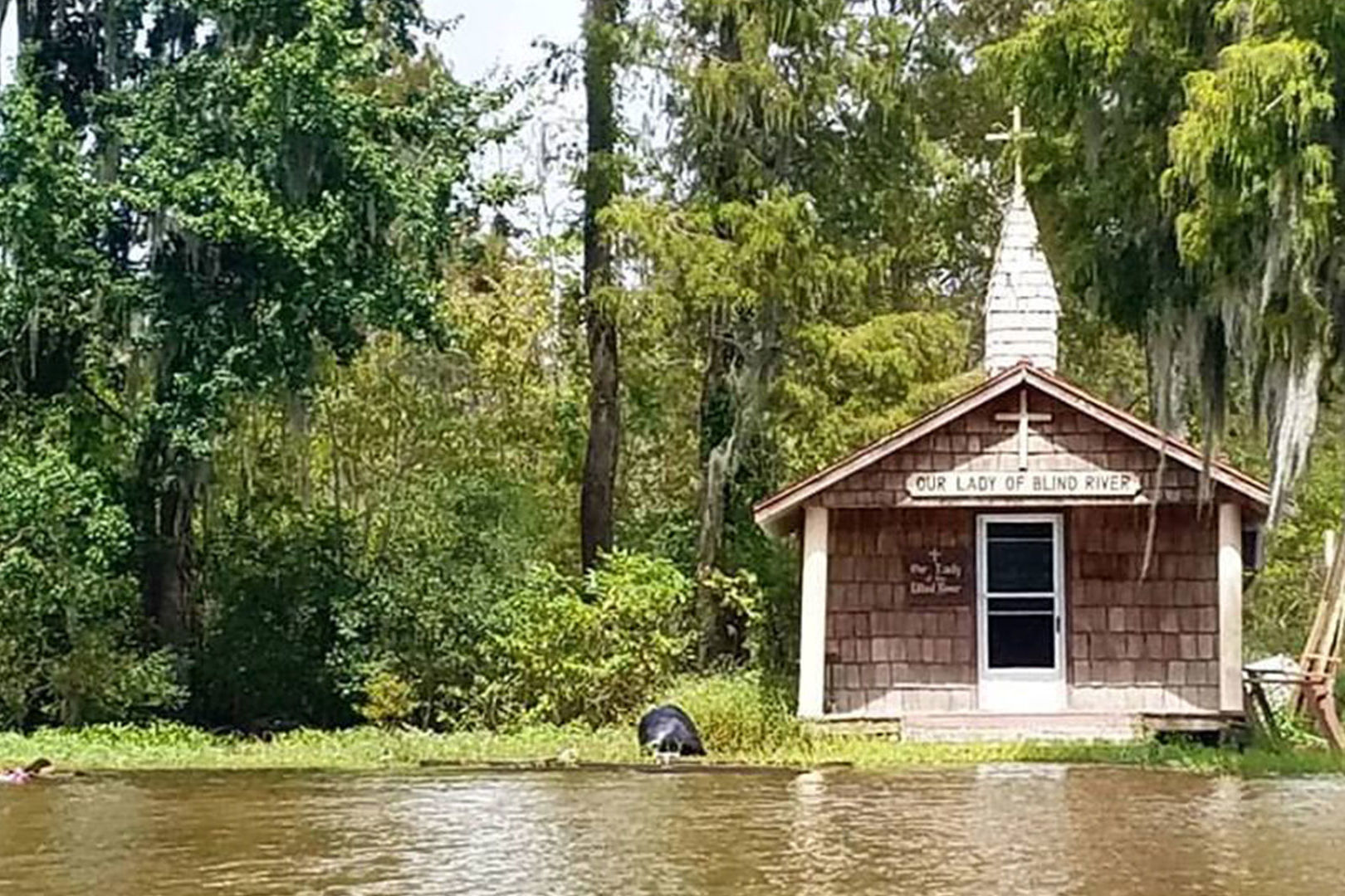 WATCH: A Family's Quest to Save the Little Louisiana Chapel You Can Only Reach by Boat
