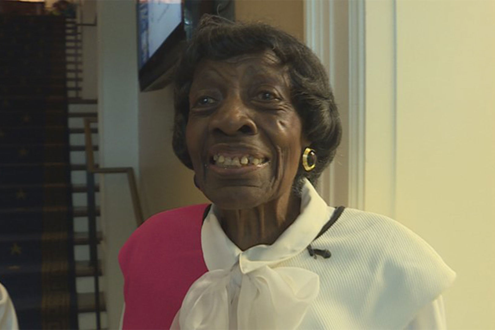 "Nearing Her 100th Birthday, ""Sassy"" Great Grandma Still Works, Drives, and Dances"