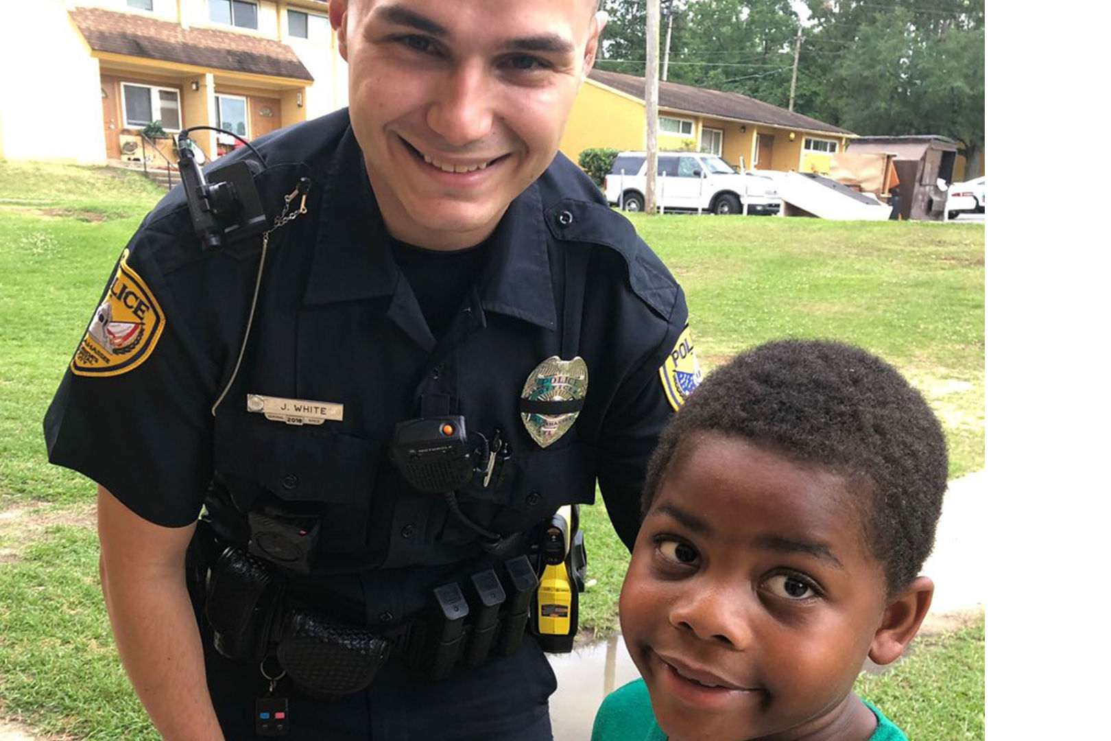 WATCH: Lonely Florida Boy Calls 911, Finds New Friend in Police Officer