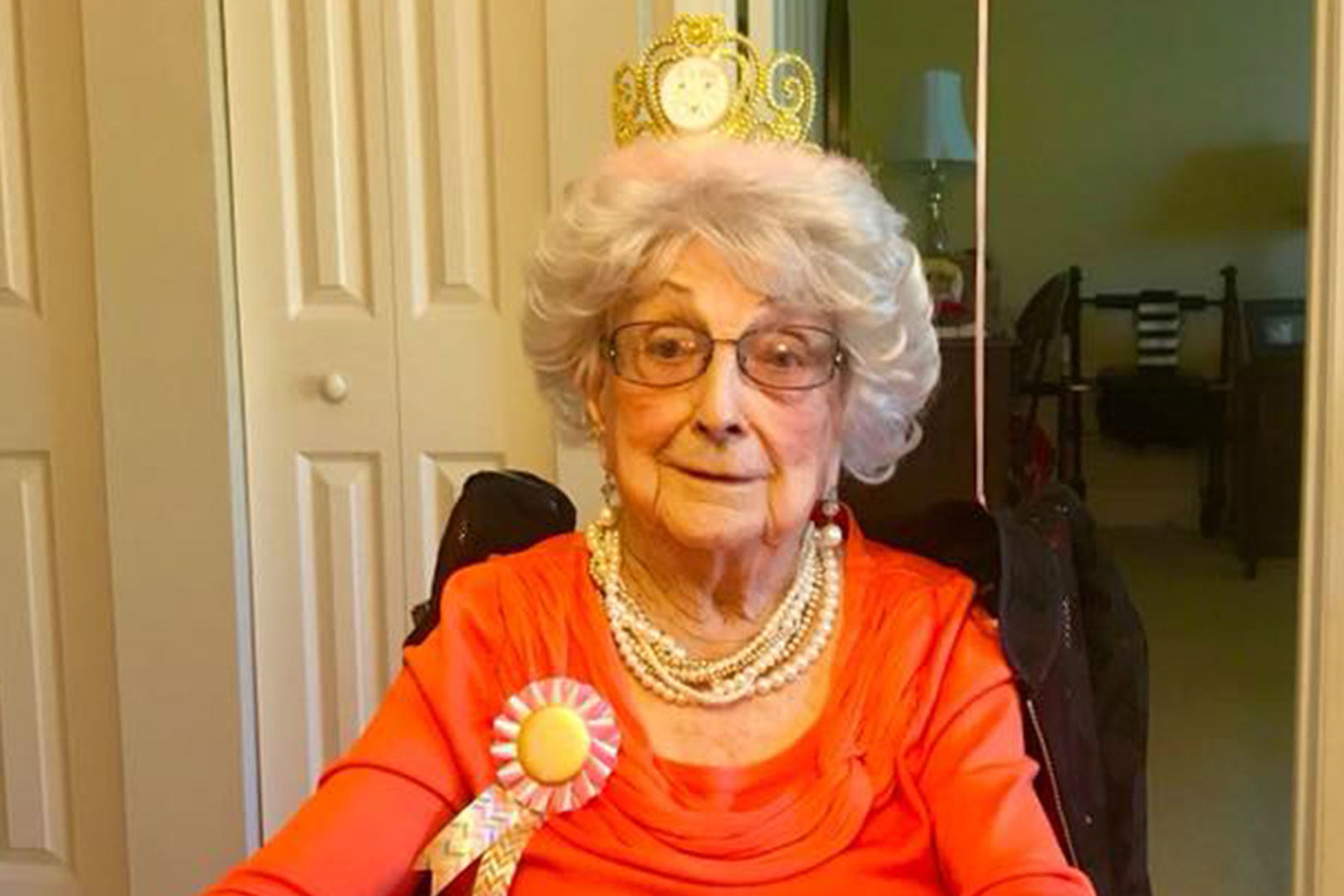 109-Year-Old Charlotte Native Celebrates the End of Each Week with a Glass of Wine