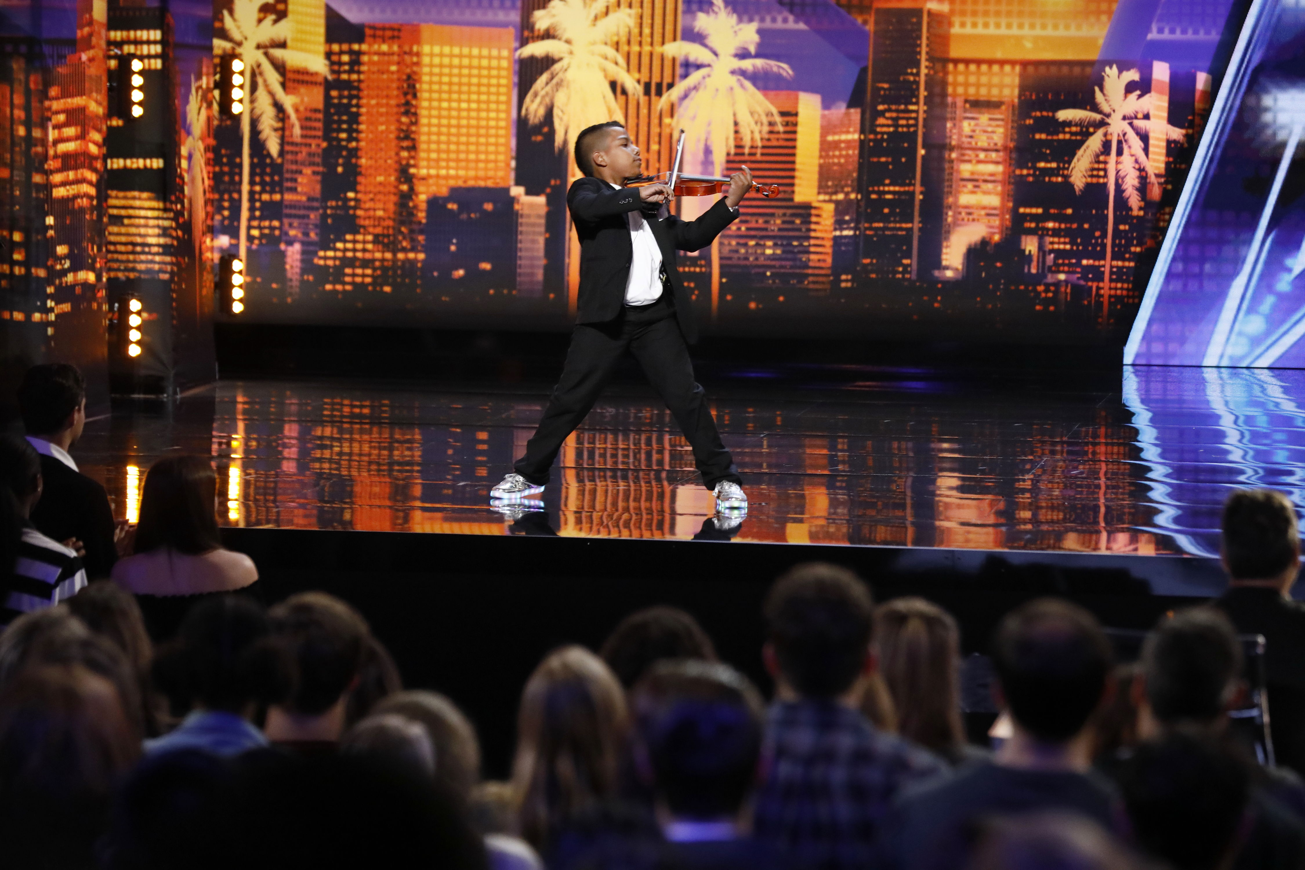 Watch This 11-Year-Old North Carolina Boy's Golden Moment from <i>America's Got Talent</i>