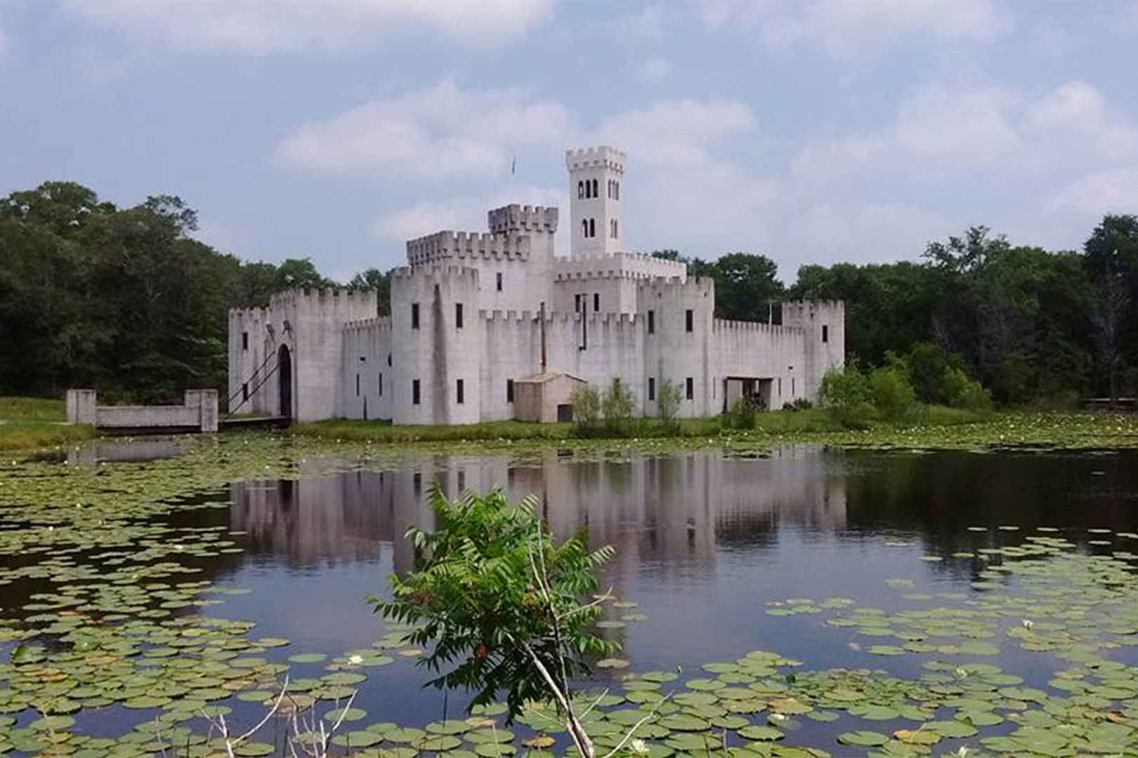 Tour a Real Castle in the Middle of the Texas Countryside