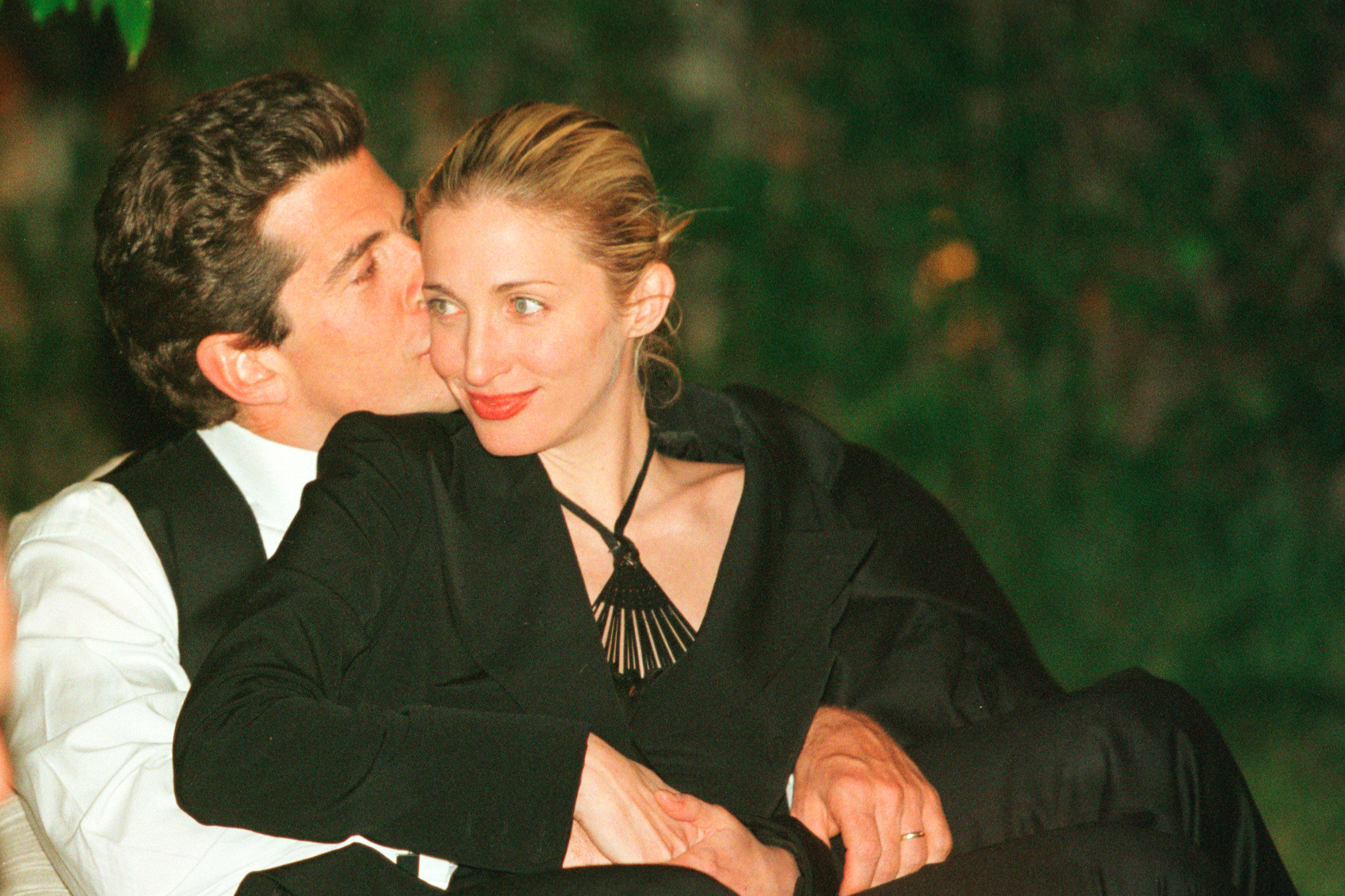 Watch Never-Before-Seen Footage of JFK Jr. and Carolyn Bessette's Secret Georgia Wedding