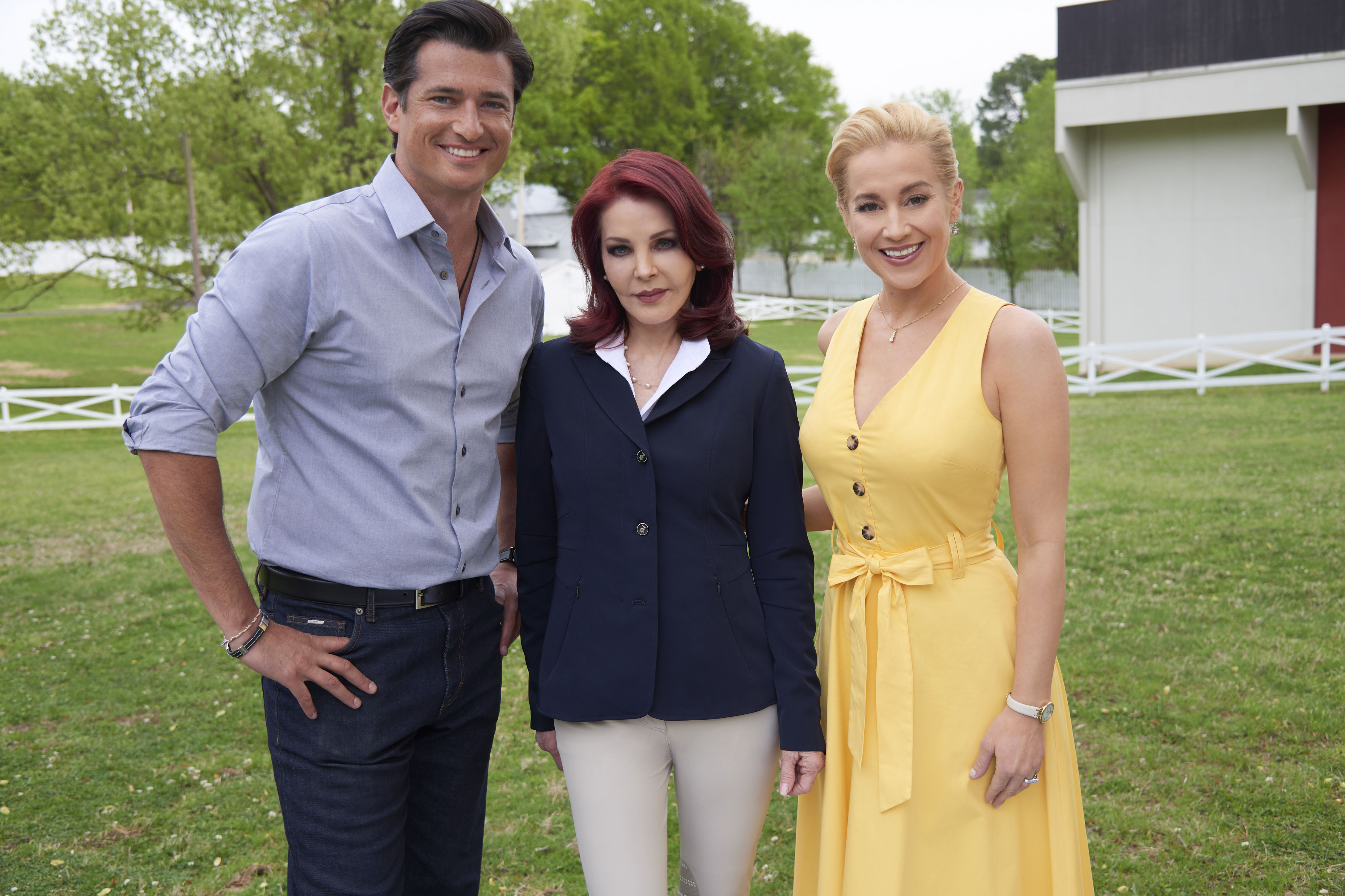Christmas At Graceland 2 Cast.Wes Brown Shares Elvis Stories From Priscilla Presley