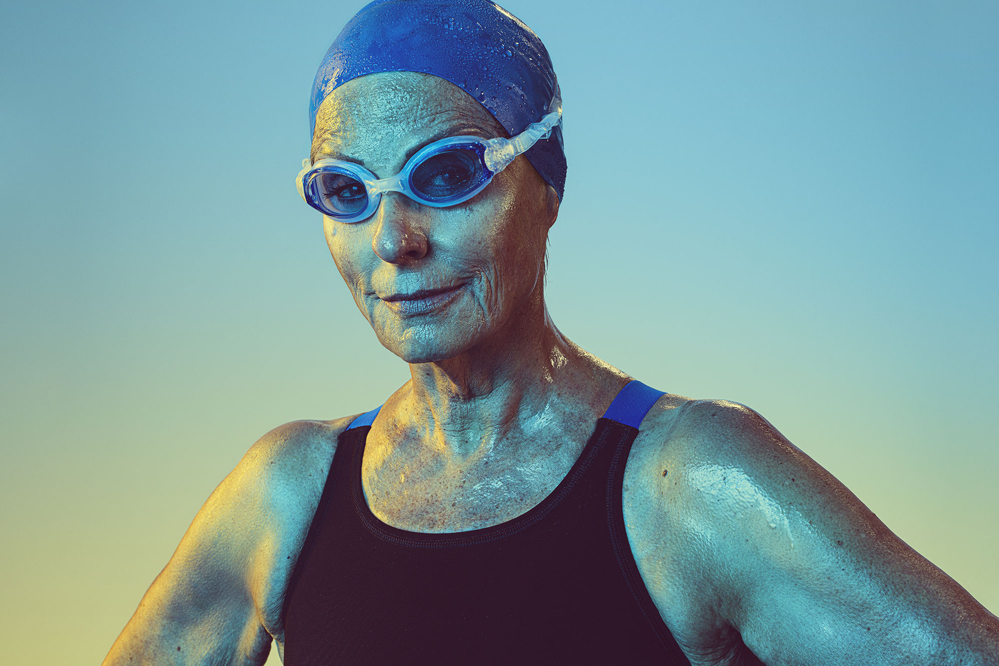 Meet DeEtte Sauer, the 77-Year-Old Houston Swimming Champ