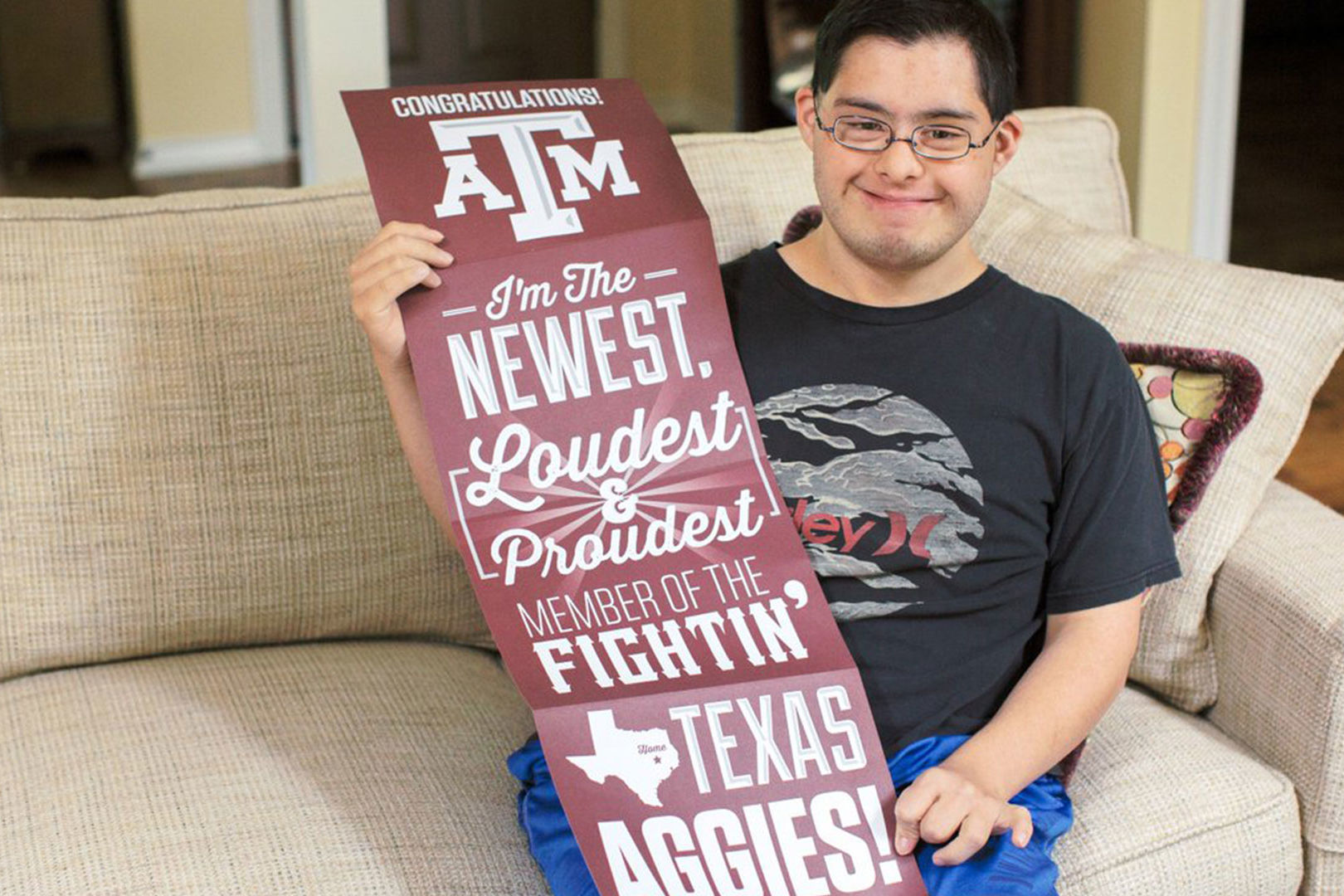 WATCH: Texas A&M Launches Texas' First 4-Year College Program for Students with Disabilities