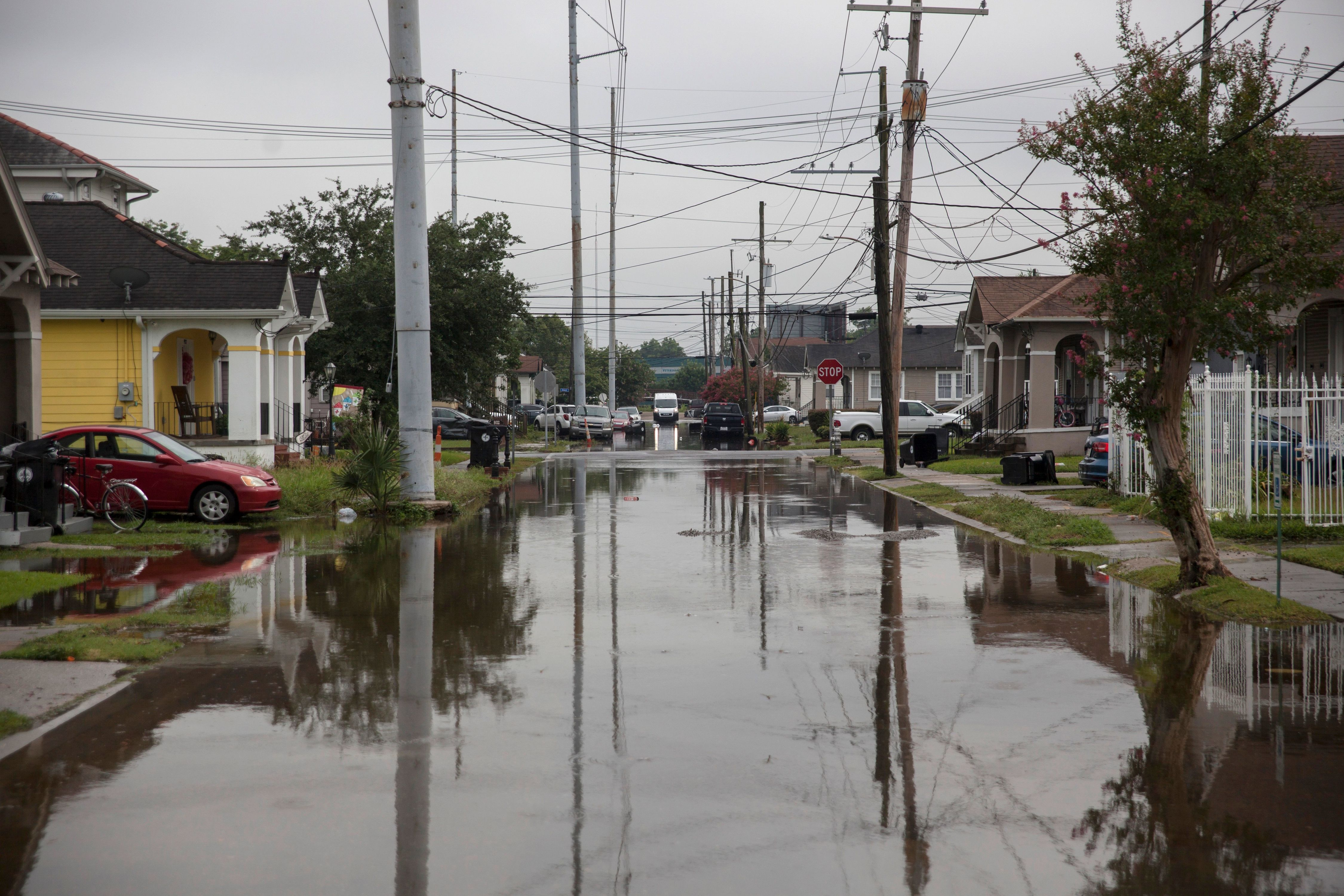 Louisiana's Water-Logged Gulf Coast Braces for Potential Hurricane