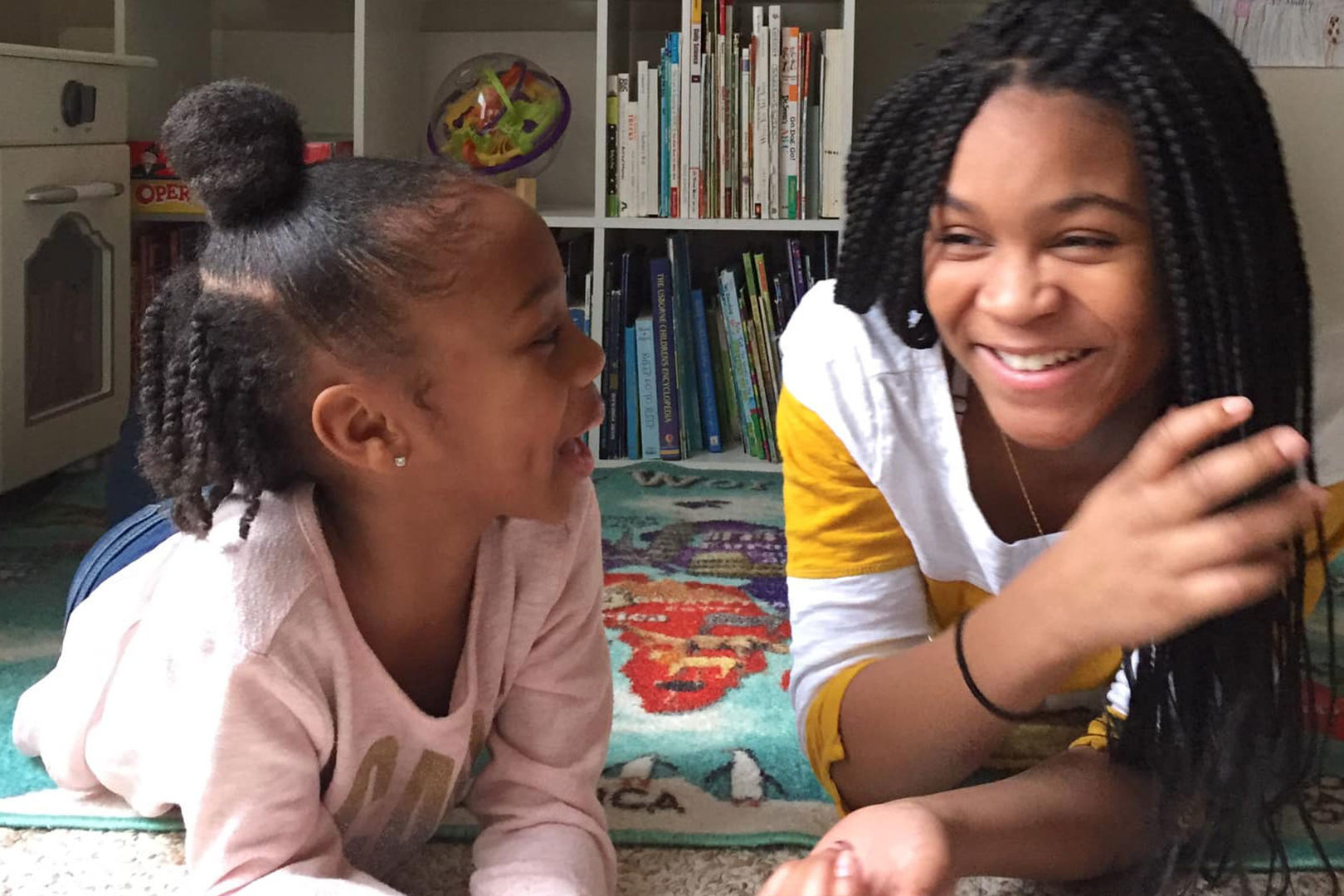 Sisters Read Bedtime Stories to Kids All over the World via Facebook