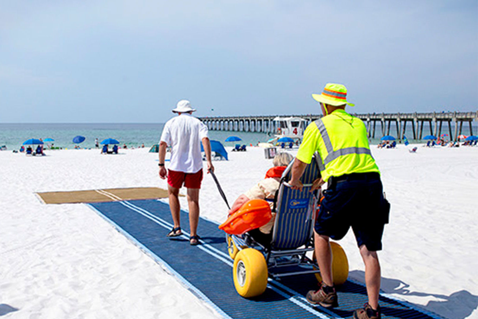 Pensacola Beaches Now Accessible to People in Wheelchairs Thanks to New Improvements