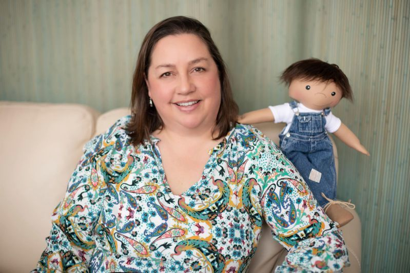 Mom Makes One-of-a-Kind Dolls for Children With Differences