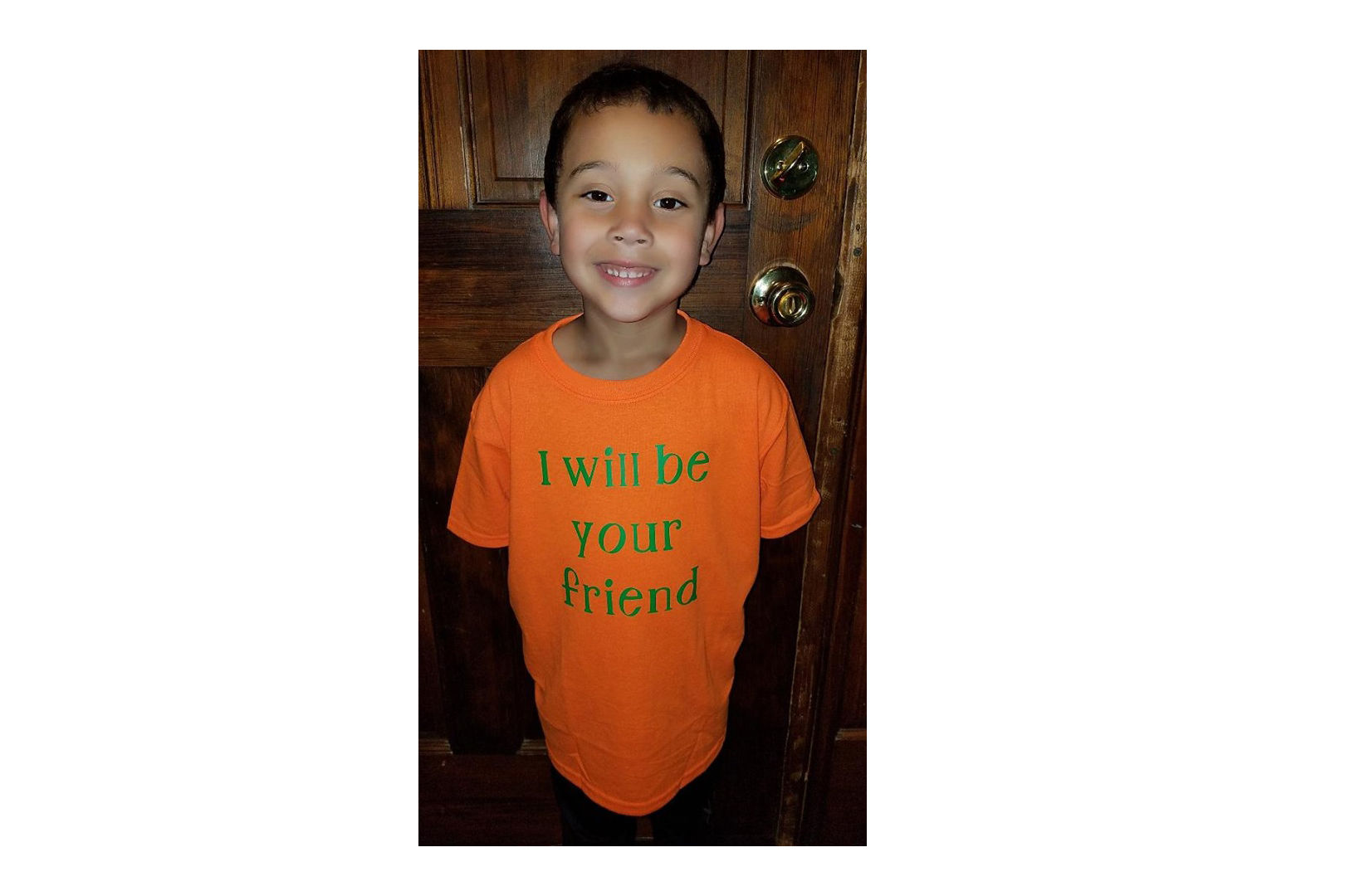 One Georgia 6-Year-Old is Heading Back to School with a Very Important Message