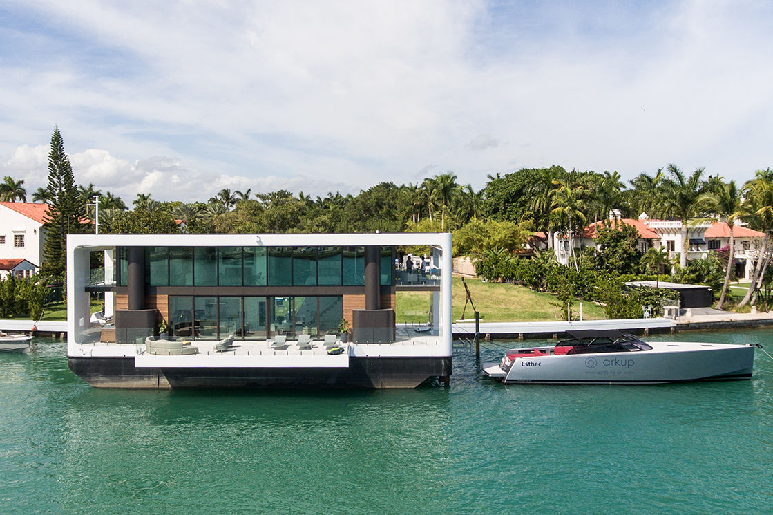 These Florida Floating Homes are Designed for Luxury Living