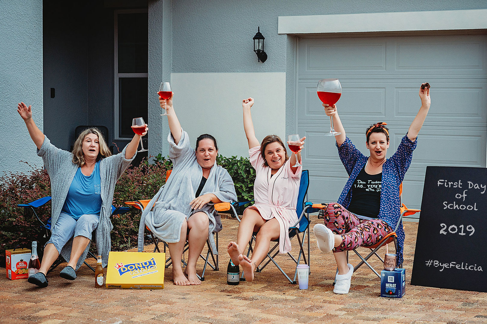 These Florida Moms Celebrated Back-to-School in Epic Fashion