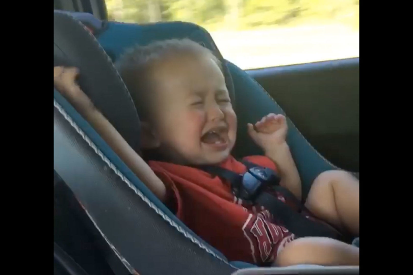 This Houston Baby Really Hates the Texas A&M Fight Song