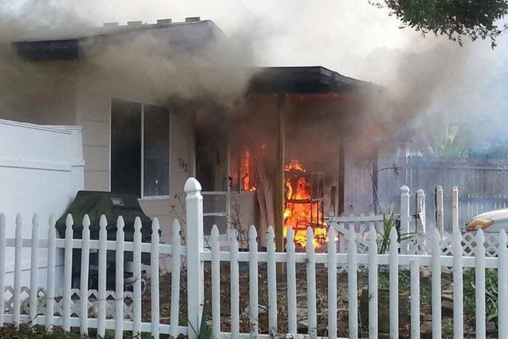 Florida Realtor Includes Photo of House on Fire in Listing, Encourages Buyers to Bring S'mores