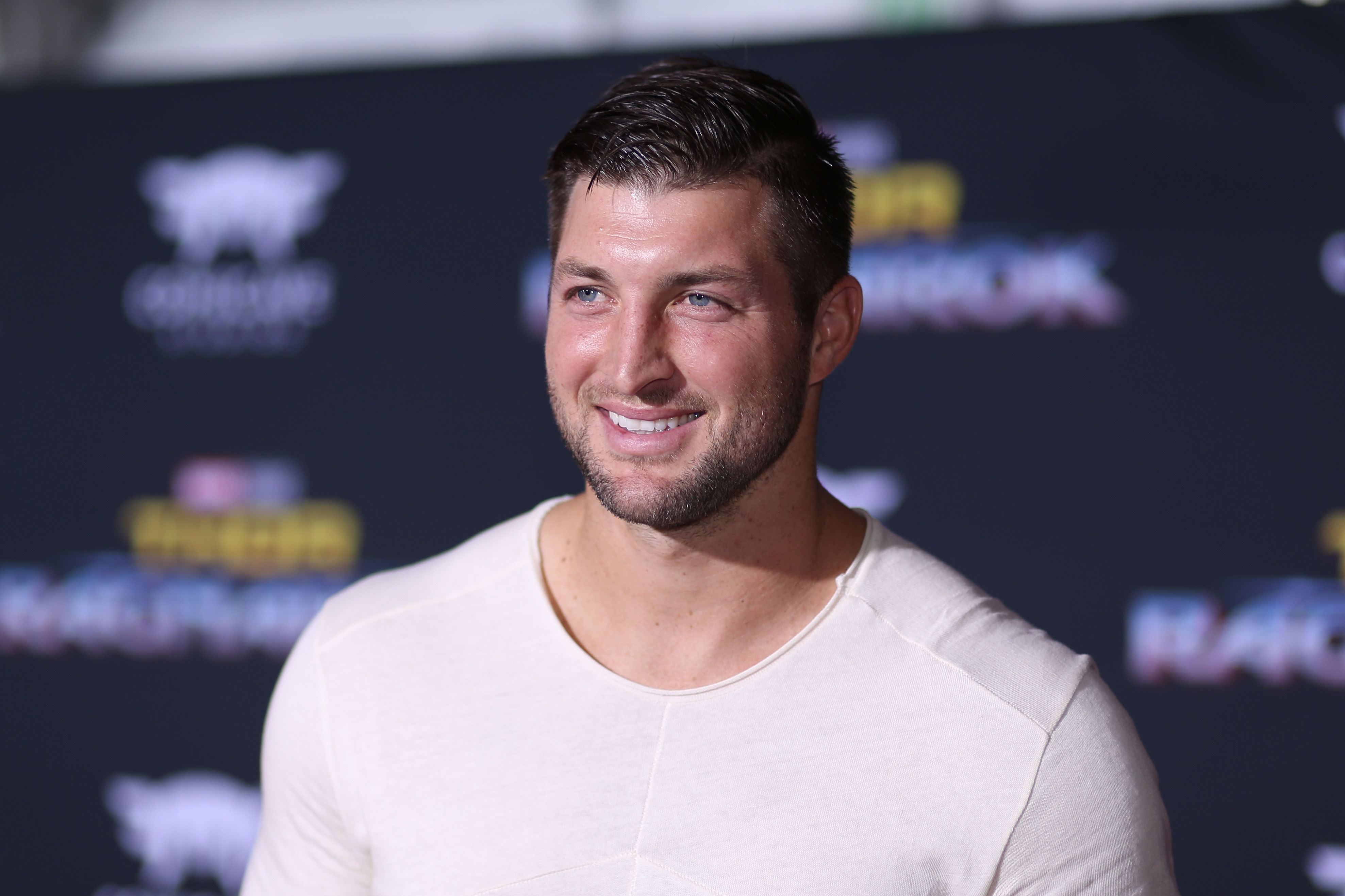 "WATCH: Tim Tebow Opens 10th ""Timmy's Playroom"" in Florida Children's Hospital"