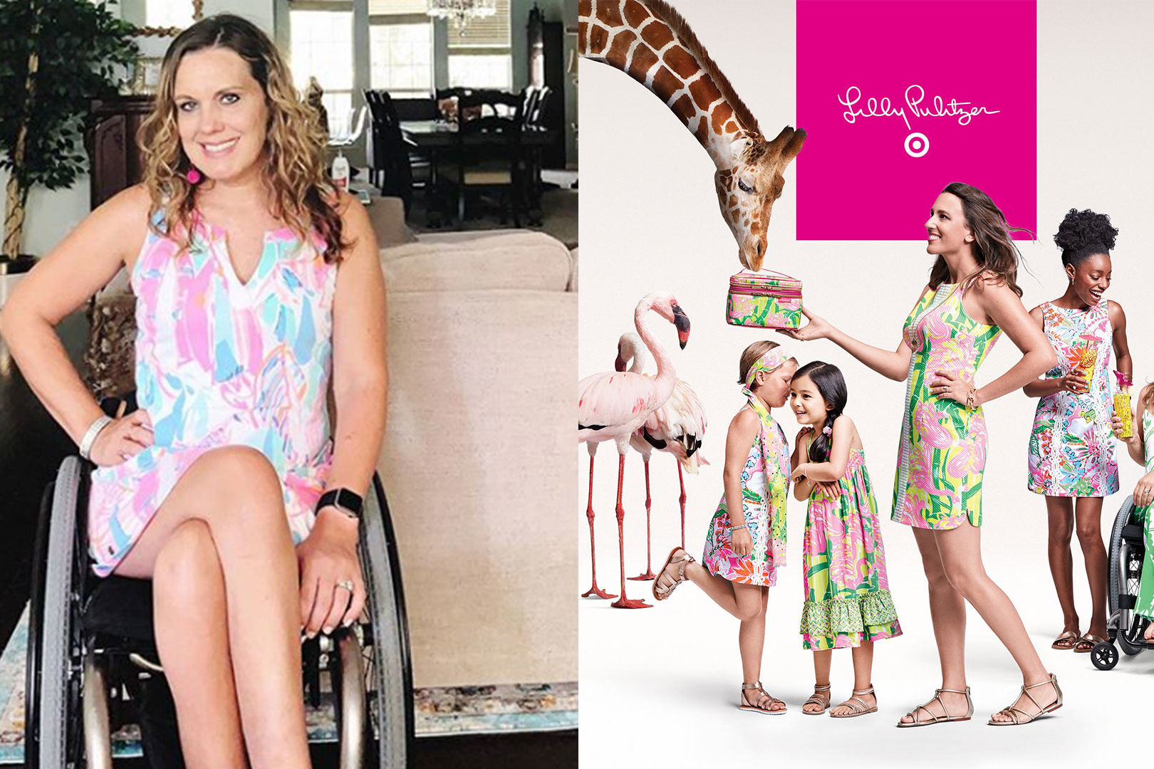 This Texas Mom (And Her Wheelchair) Were Featured in New Lilly Pulitzer for Target Ad