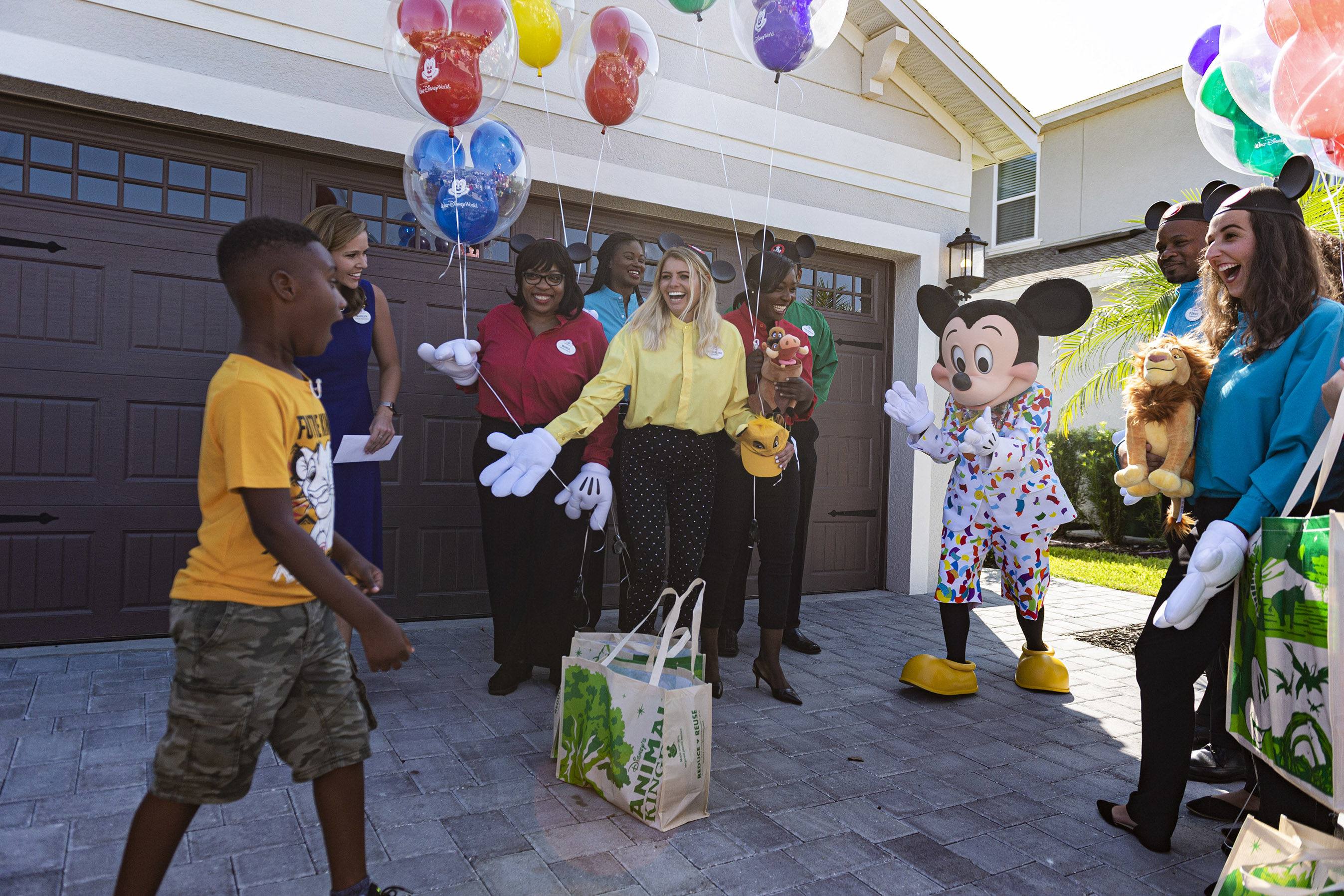 Boy Who Used Disney World Savings to Help Dorian Evacuees Surprised with Dream Trip