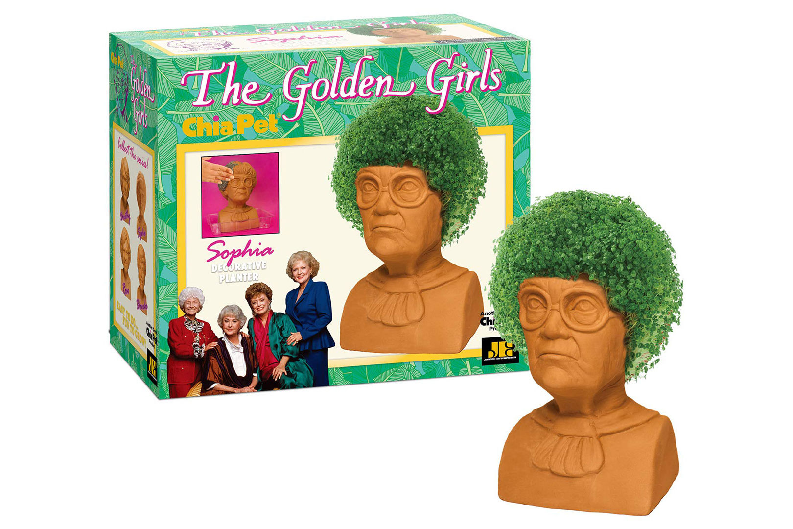 It's Settled: Everyone on Our Christmas List Is Getting a <i>Golden Girls</i> Chia Pet