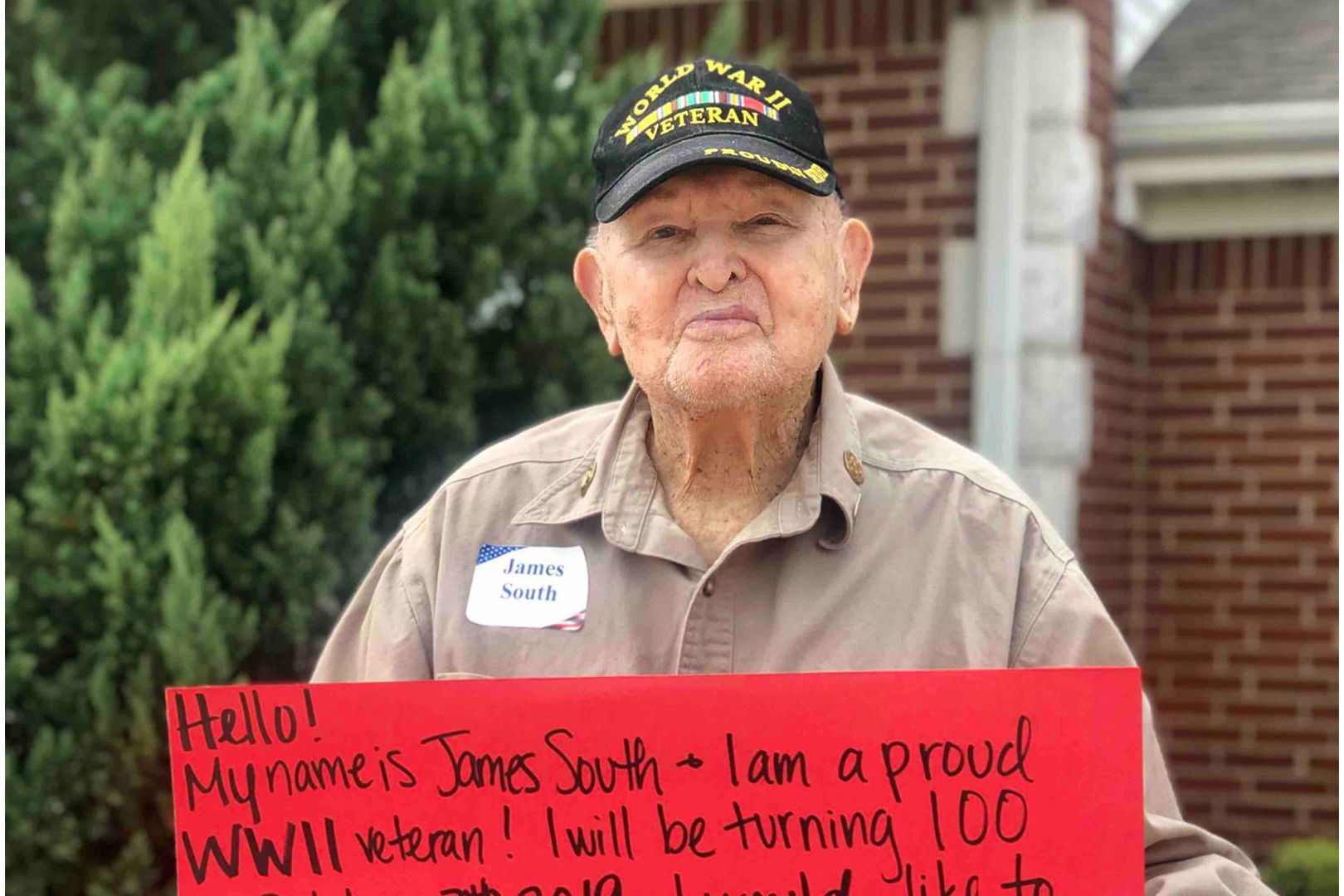 Texas WWII Vet Wants 100 Birthday Cards for His 100th Birthday