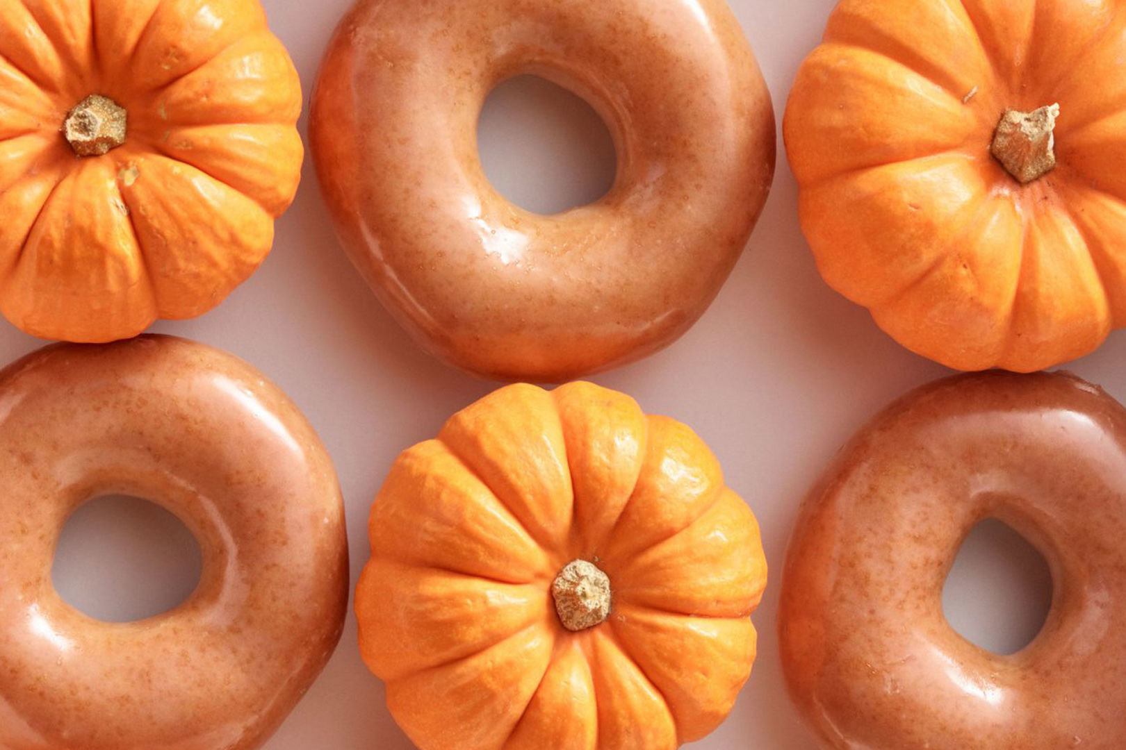 It's Back! Krispy Kreme's Pumpkin Spice Original Glazed Doughnut Returns for Another Week